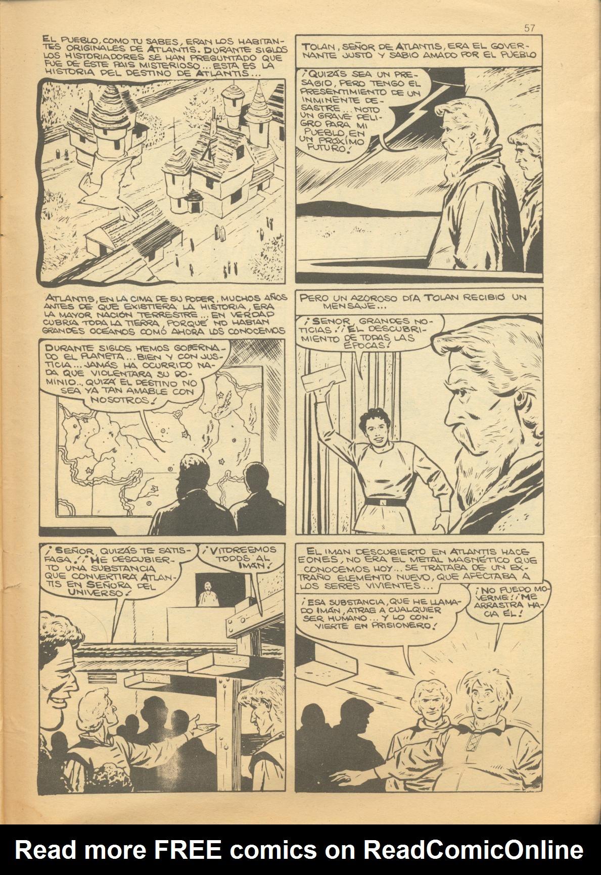 Read online Adventures into Weird Worlds comic -  Issue #1 - 21
