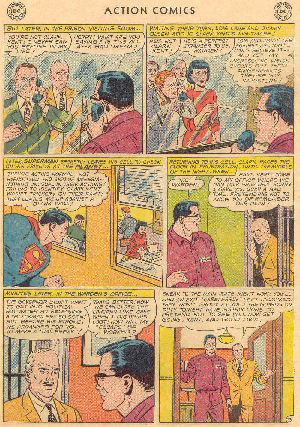 Read online Action Comics (1938) comic -  Issue #323 - 11