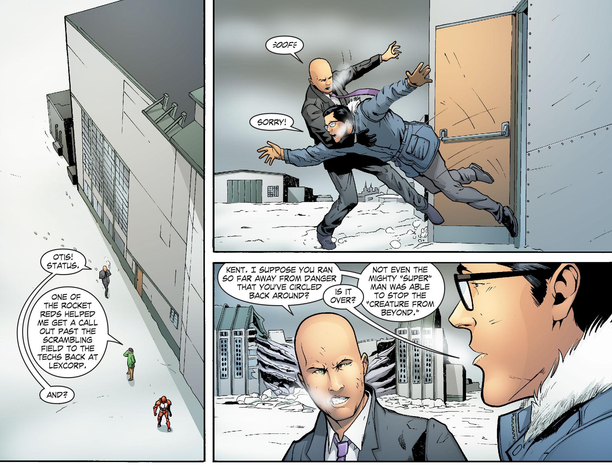 Read online Smallville: Alien comic -  Issue #7 - 11