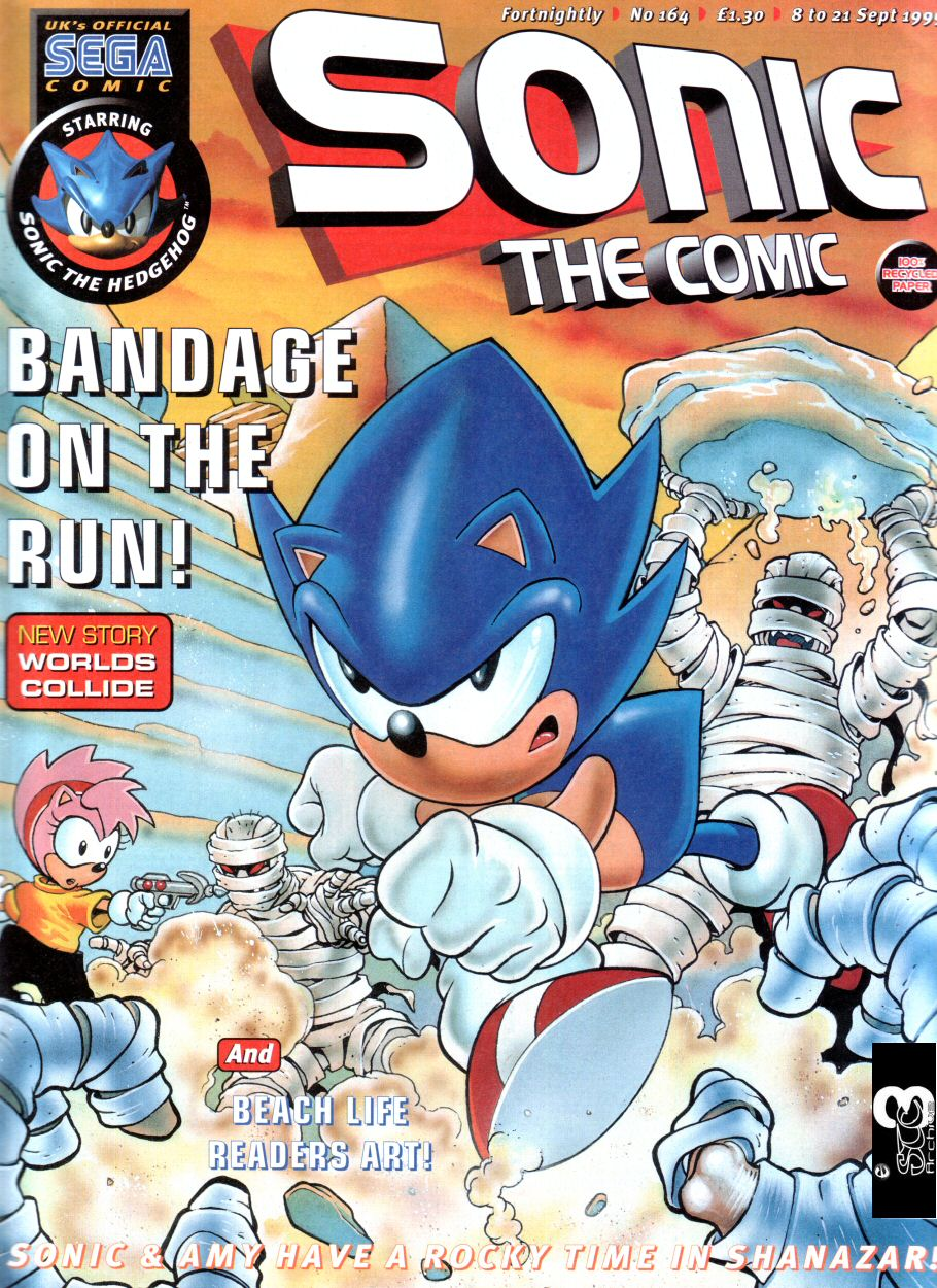 Read online Sonic the Comic comic -  Issue #164 - 1