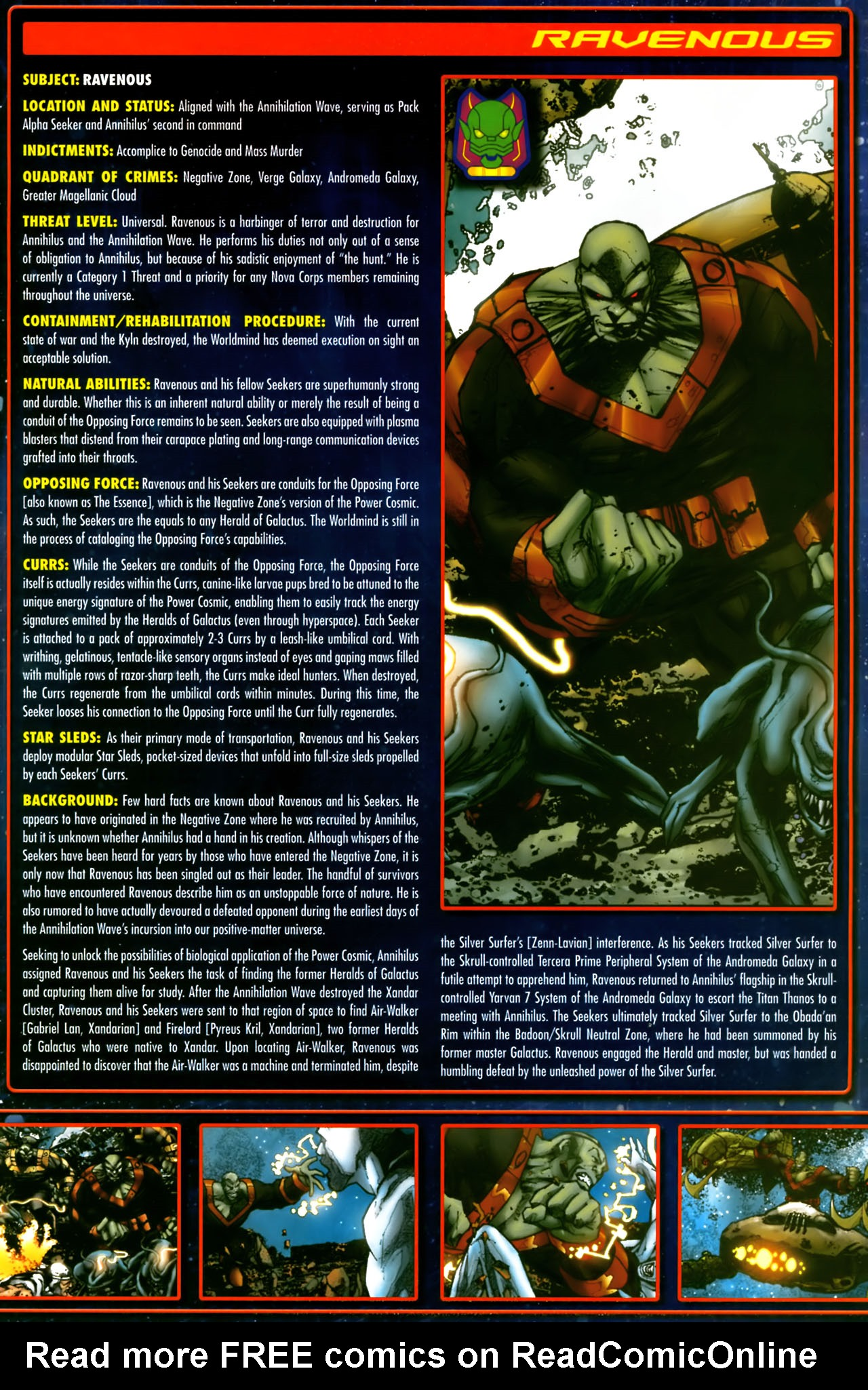 Read online Annihilation:  The  Nova Corps Files comic -  Issue #Annihilation:  The  Nova Corps Files Full - 30