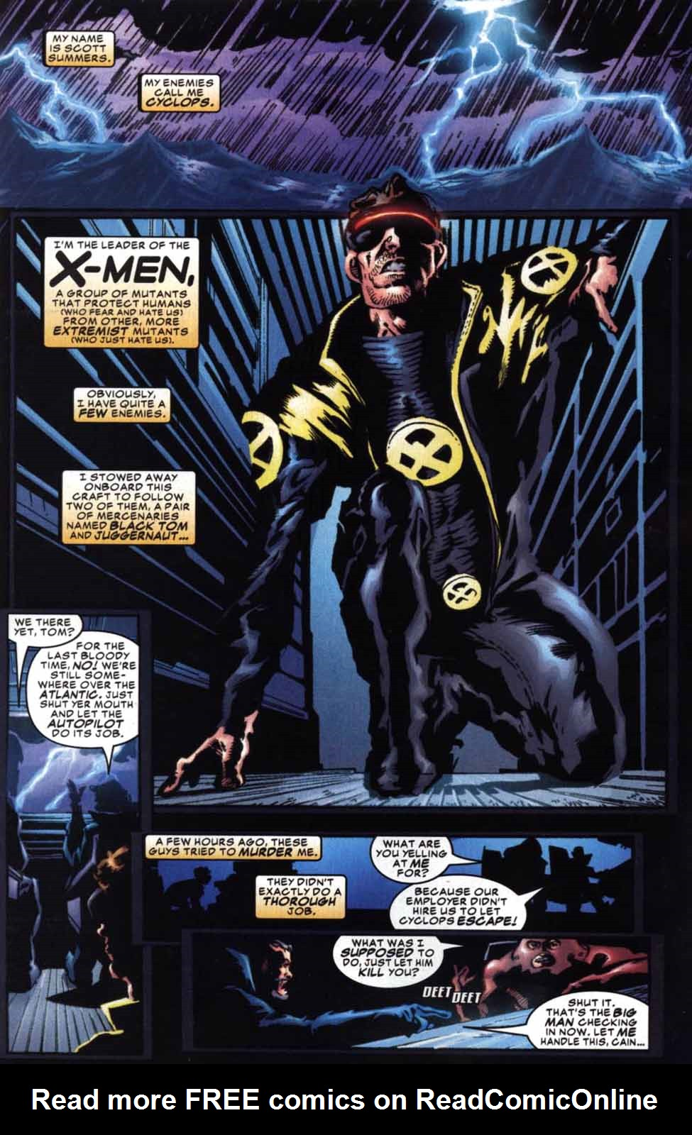 Read online Cyclops (2001) comic -  Issue #2 - 2