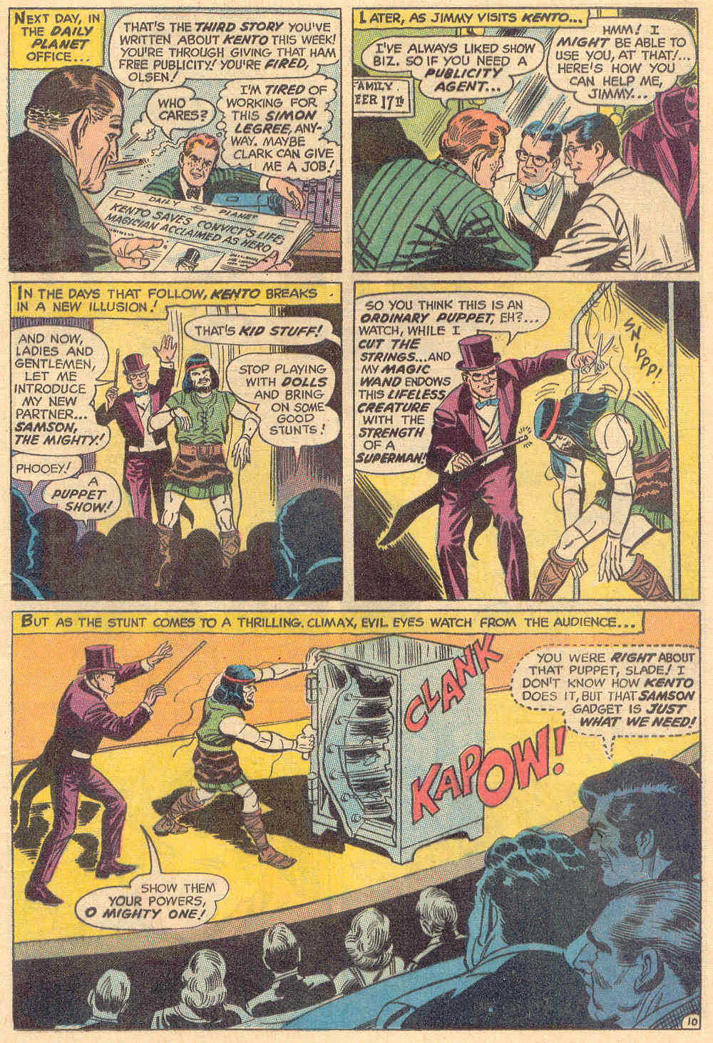 Read online Action Comics (1938) comic -  Issue #382 - 13