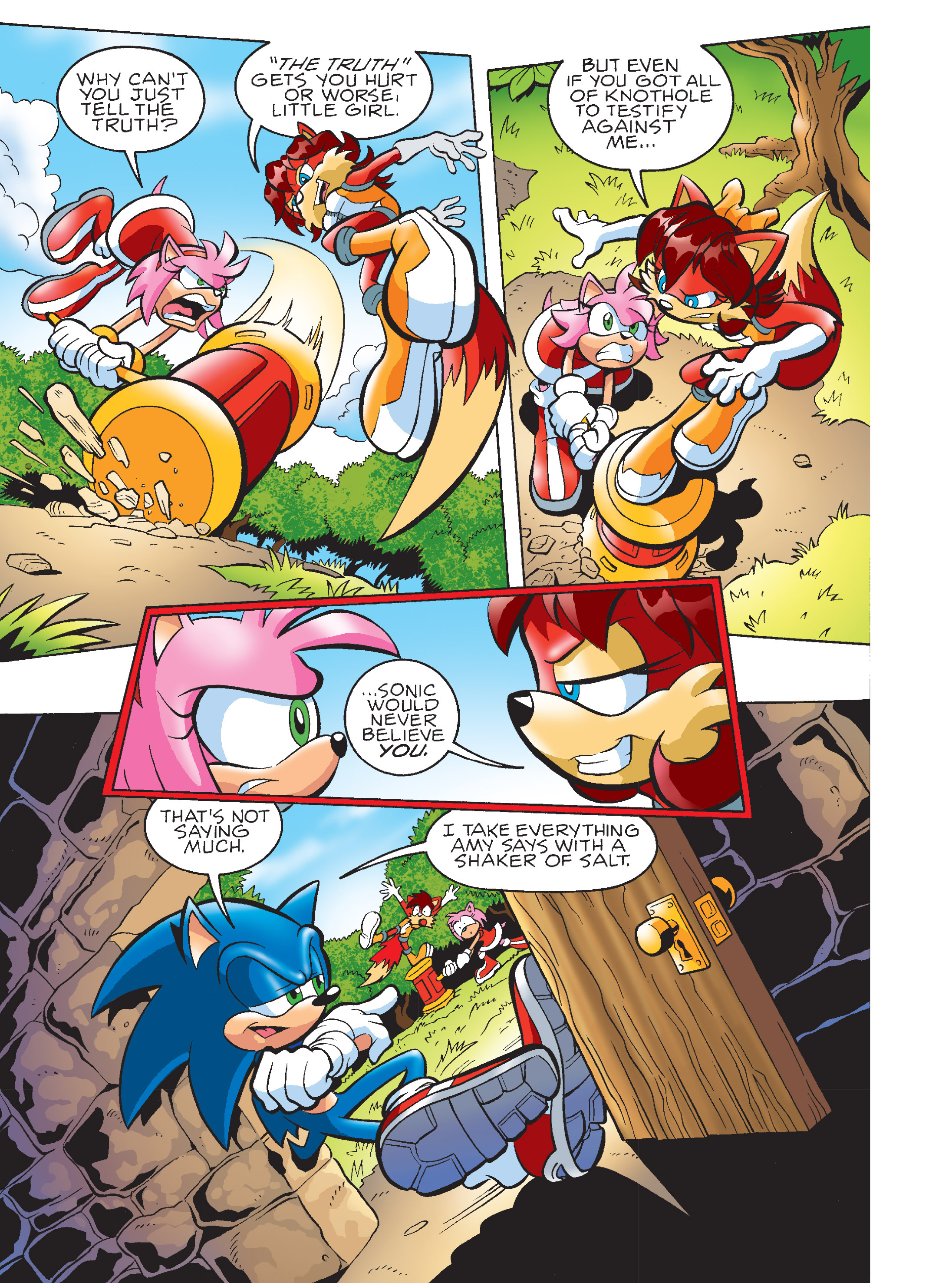 Read online Sonic Super Digest comic -  Issue #7 - 85