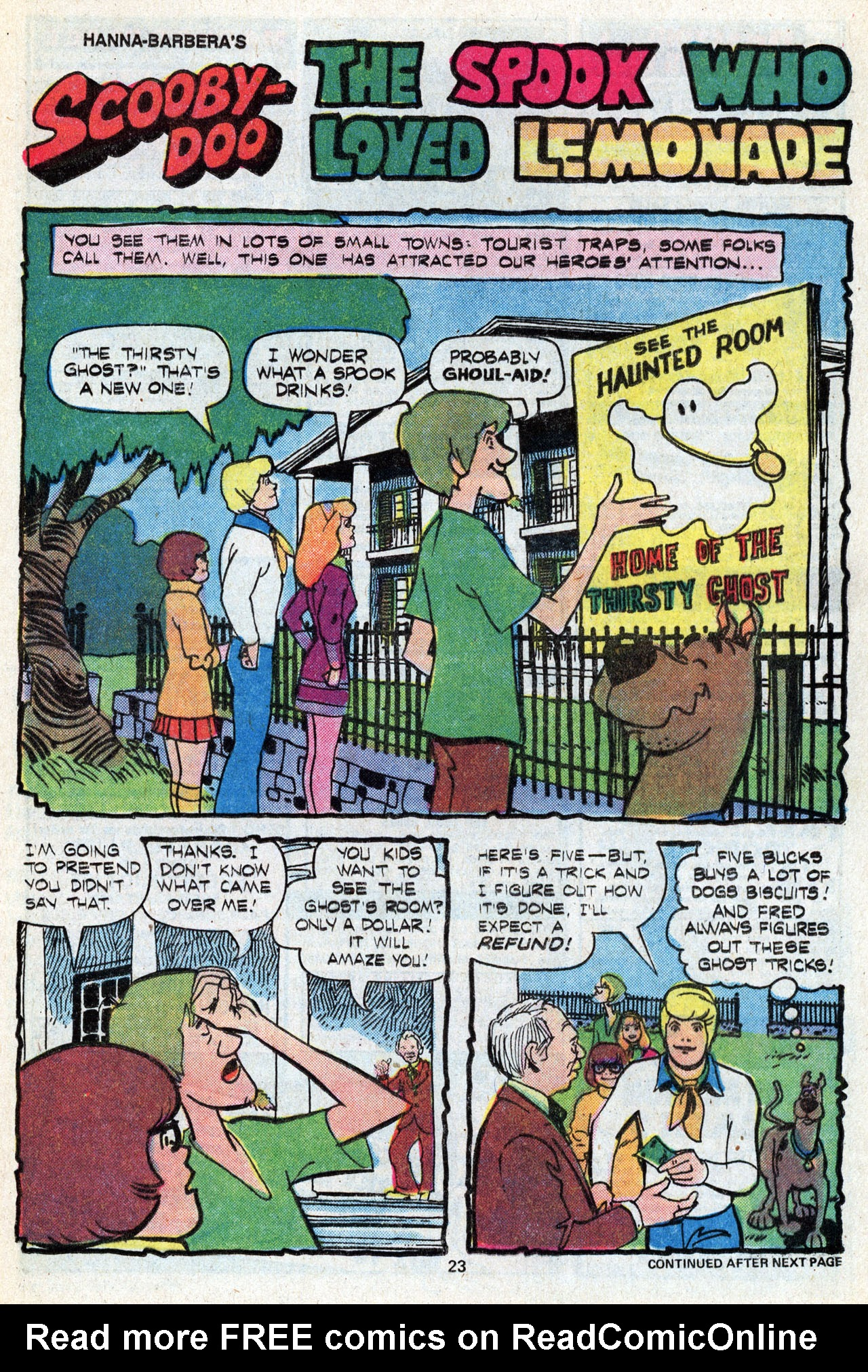 Read online Scooby-Doo (1977) comic -  Issue #5 - 25