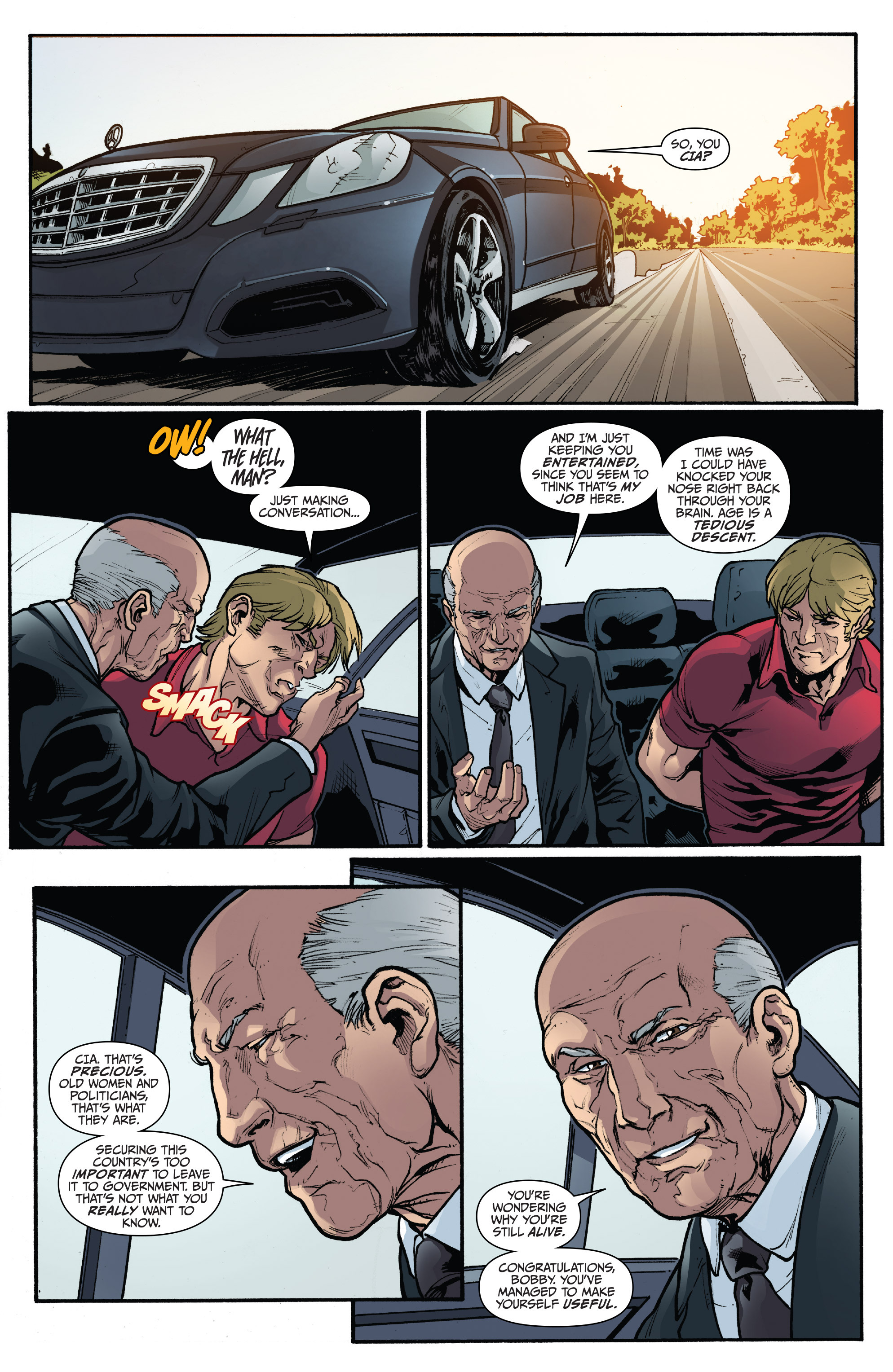 Read online 3 Guns comic -  Issue #4 - 14