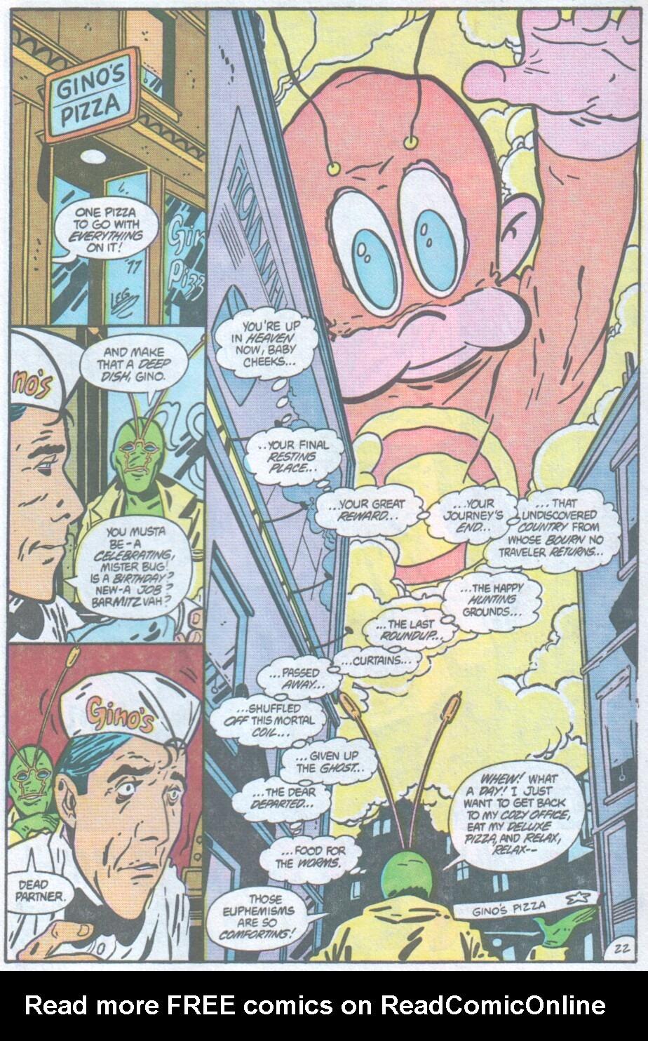 Read online Ambush Bug comic -  Issue #1 - 23