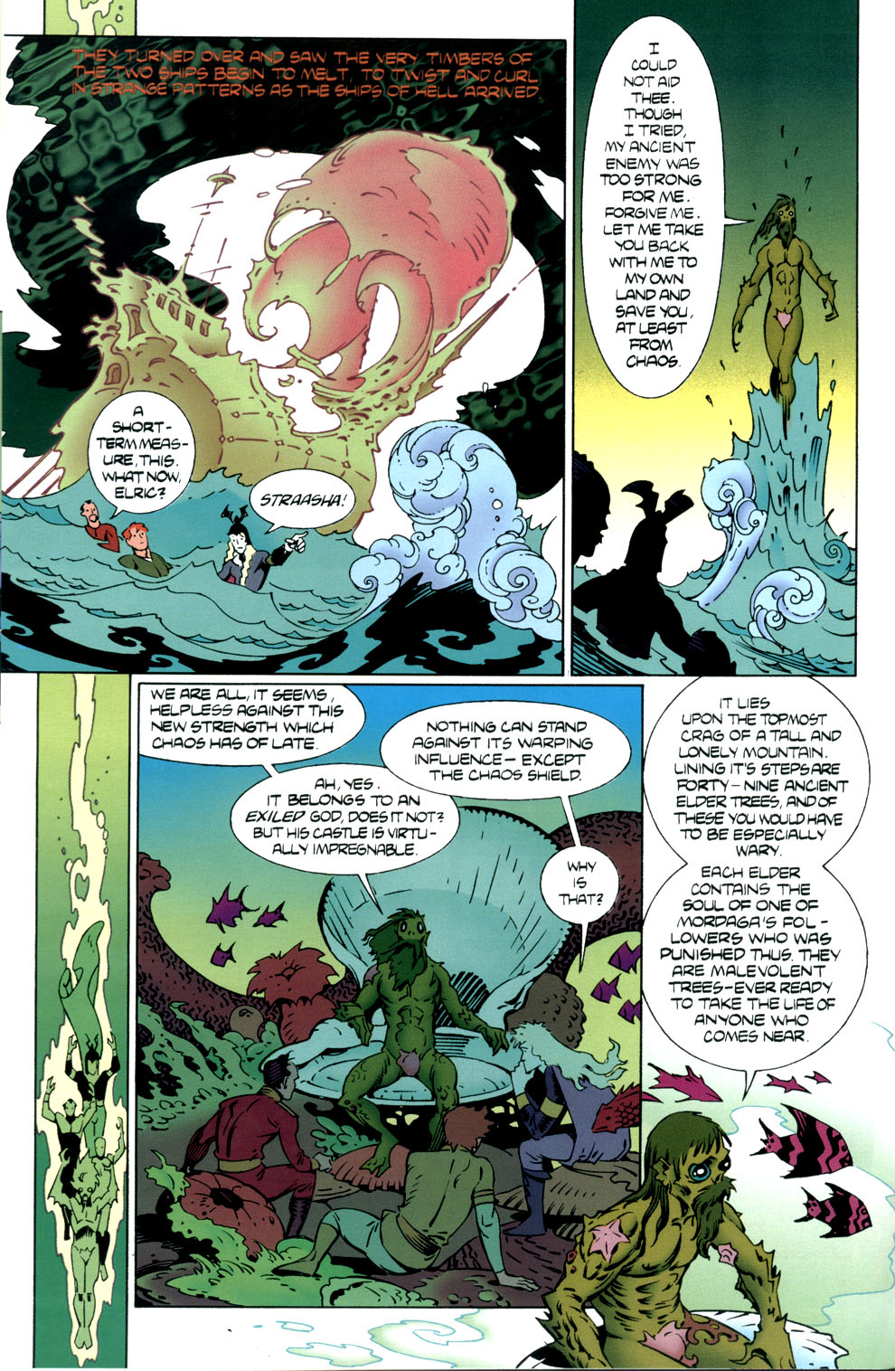 Read online Elric: Stormbringer comic -  Issue #5 - 6
