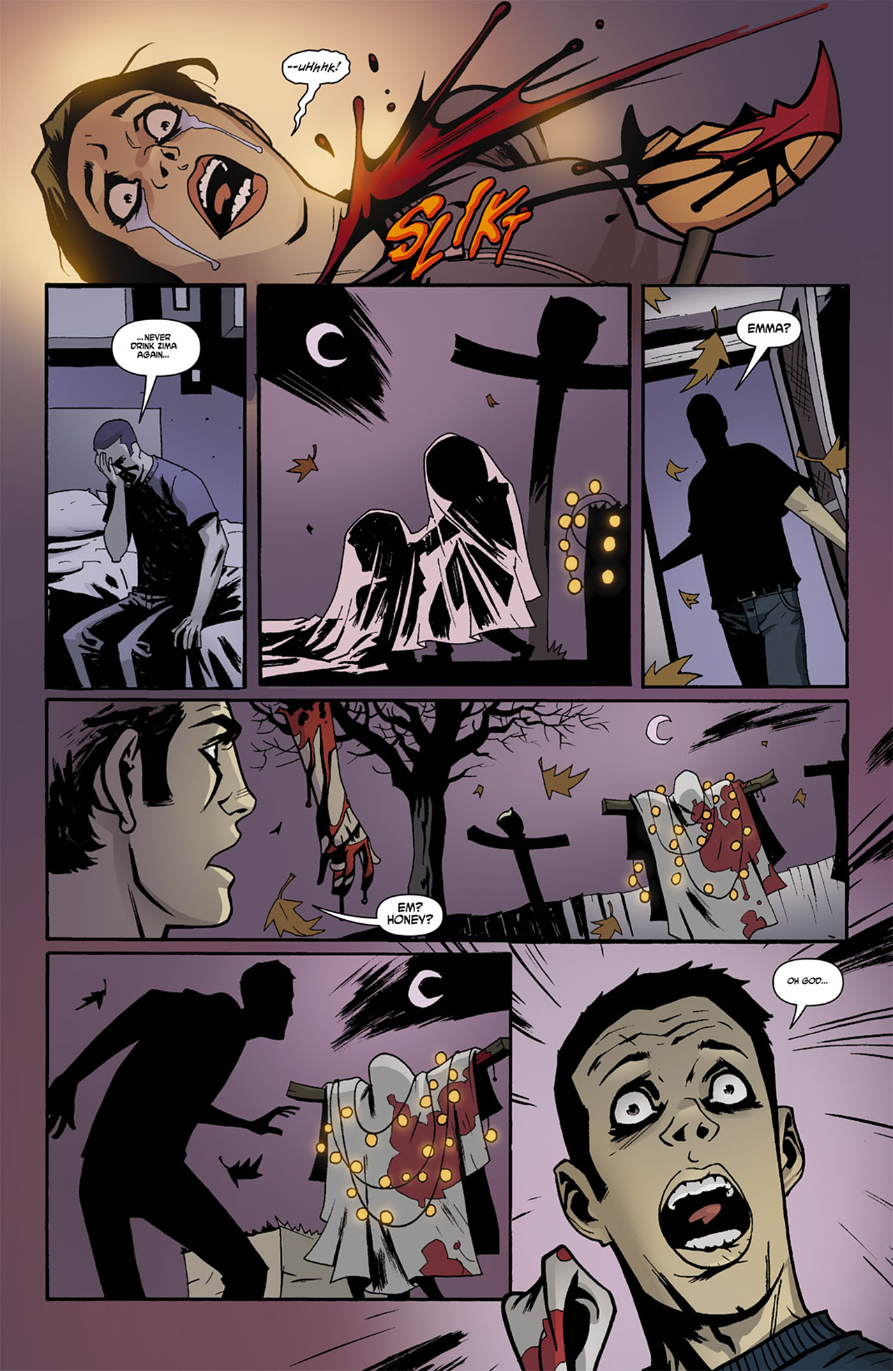Read online Trick 'r Treat comic -  Issue #1 - 6