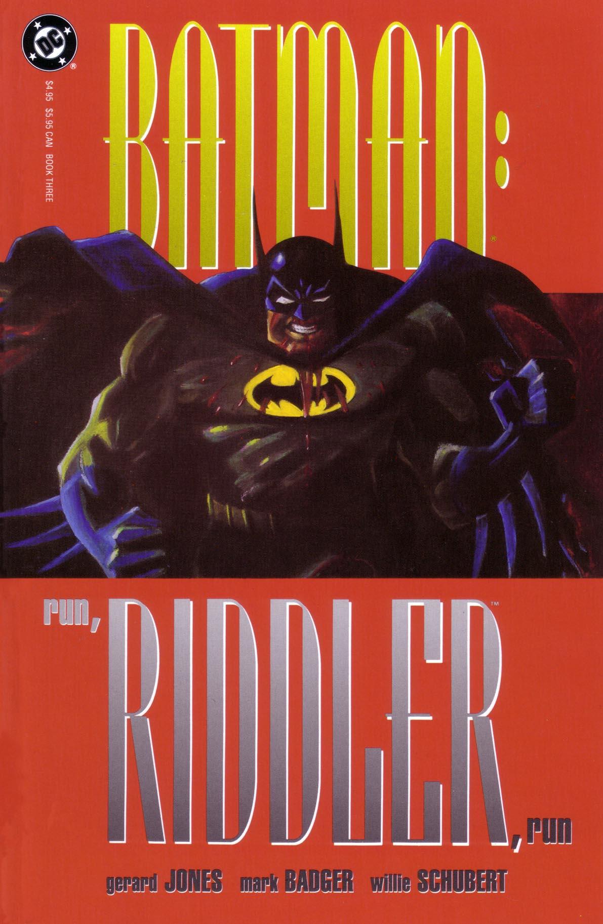 Batman: Run, Riddler, Run 3 Page 1