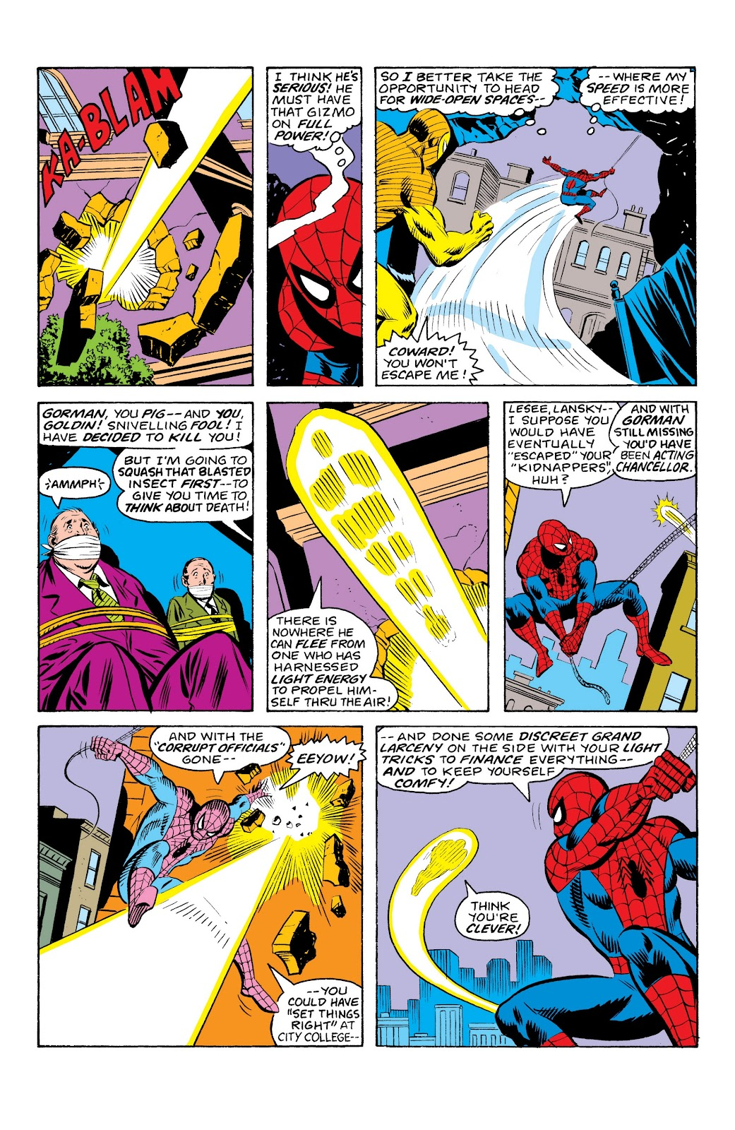 Read online Marvel Masterworks: The Spectacular Spider-Man comic -  Issue # TPB (Part 1) - 58