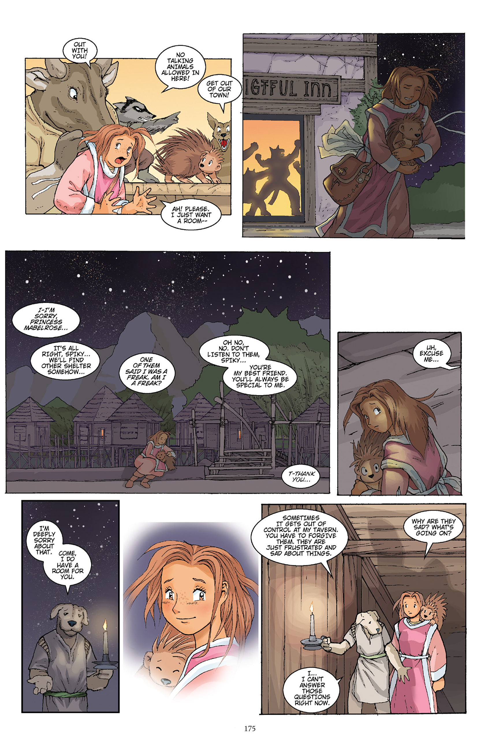 Read online Courageous Princess comic -  Issue # TPB 1 - 173