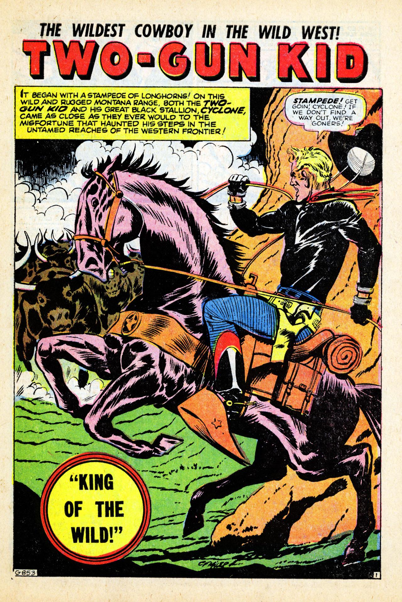 Read online Two-Gun Kid comic -  Issue #28 - 27