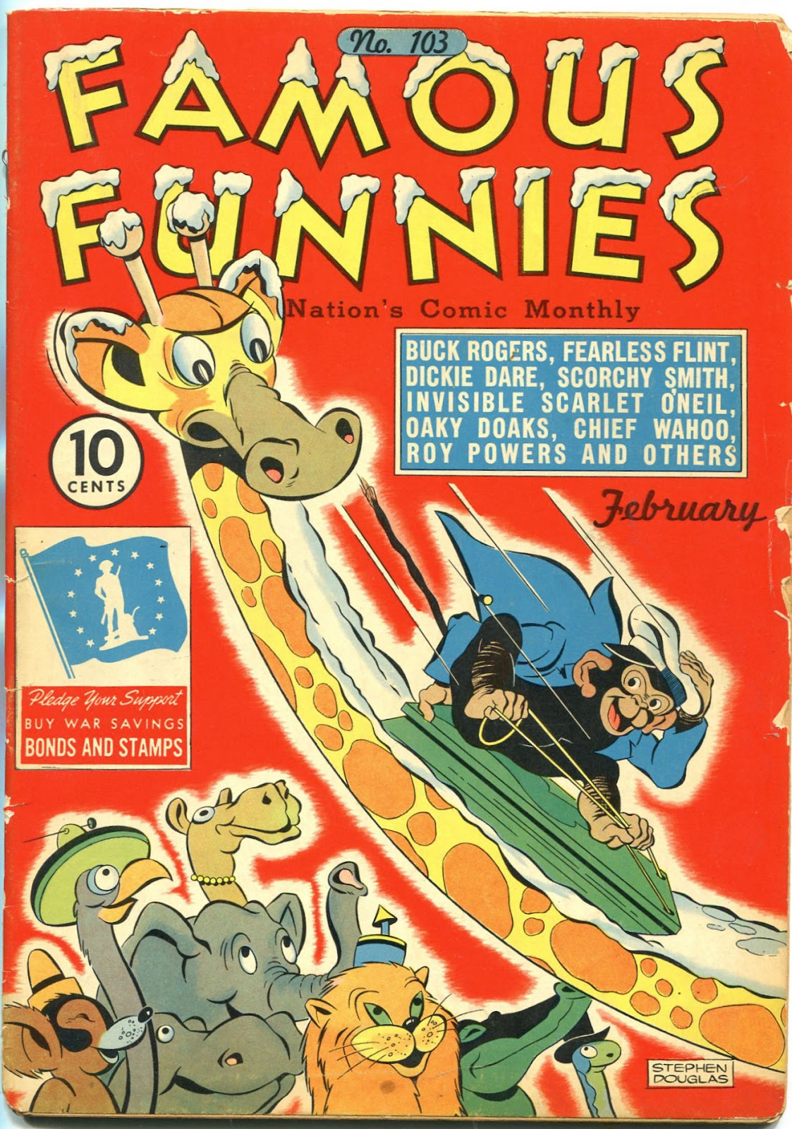 Read online Famous Funnies comic -  Issue #103 - 1