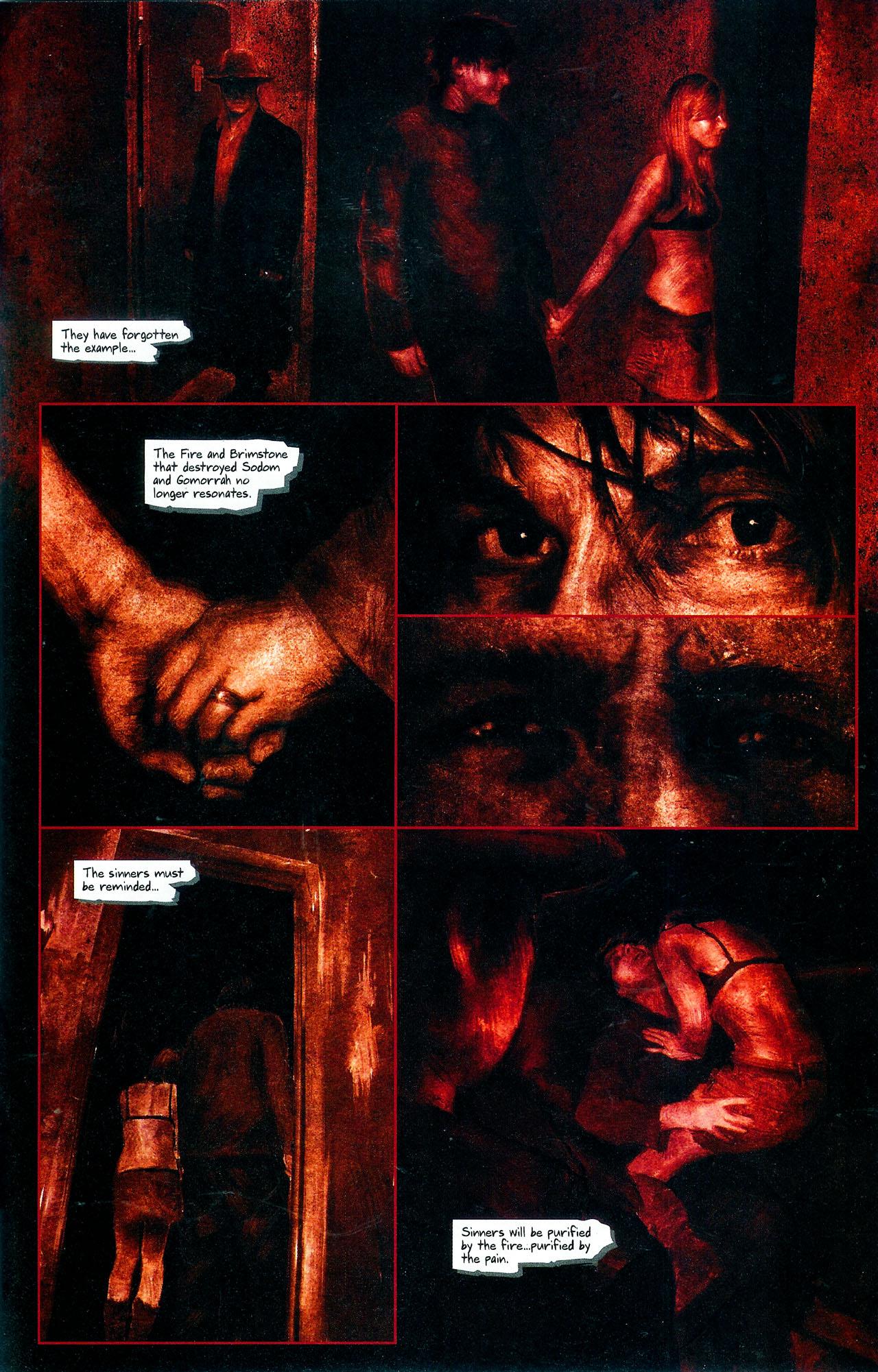 Read online Se7en comic -  Issue #4 - 28