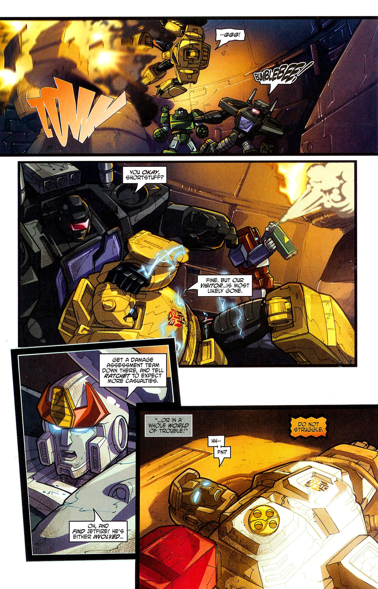 """Read online Transformers War Within: """"The Dark Ages"""" comic -  Issue #5 - 20"""