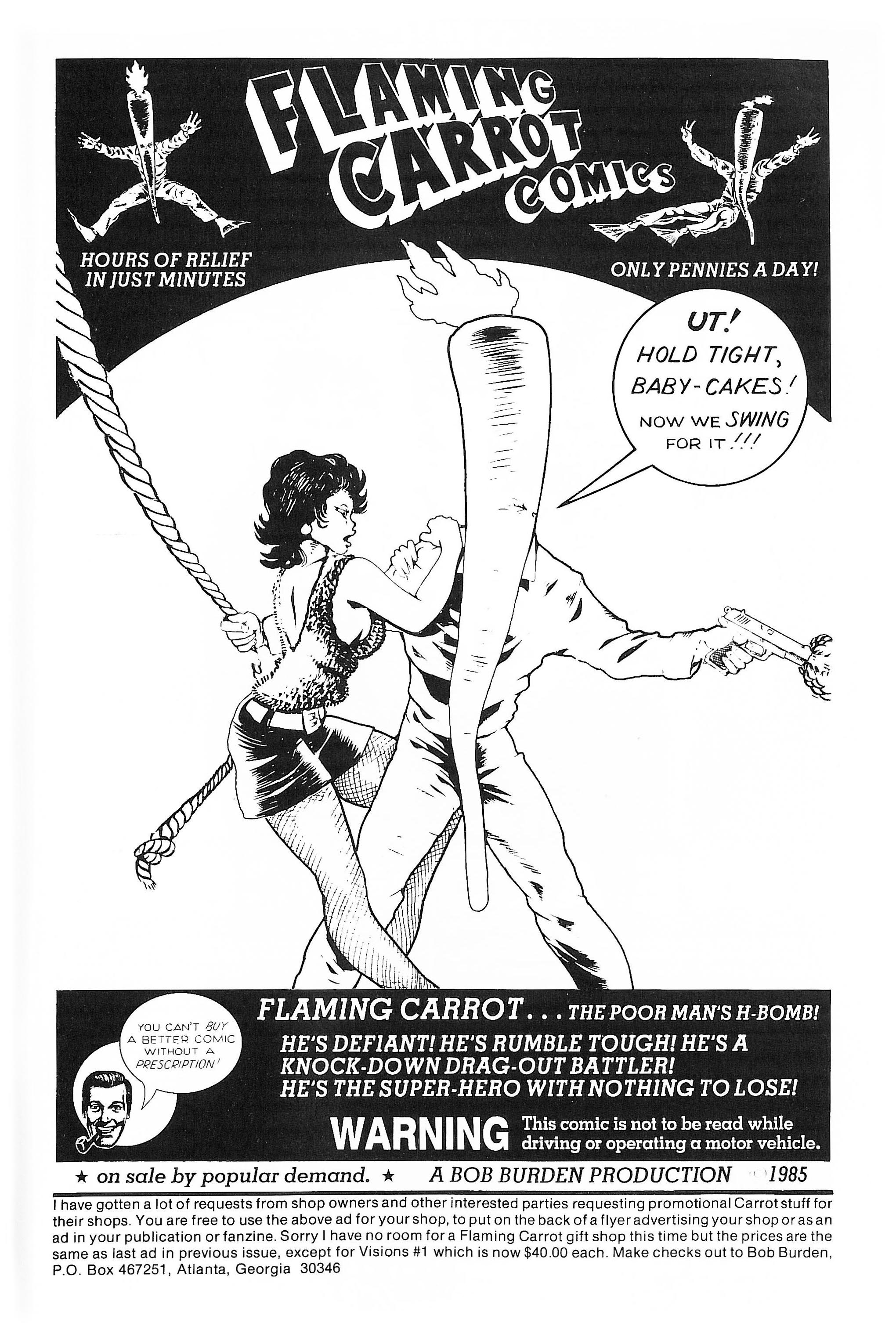Read online Flaming Carrot Comics (1984) comic -  Issue #10 - 35