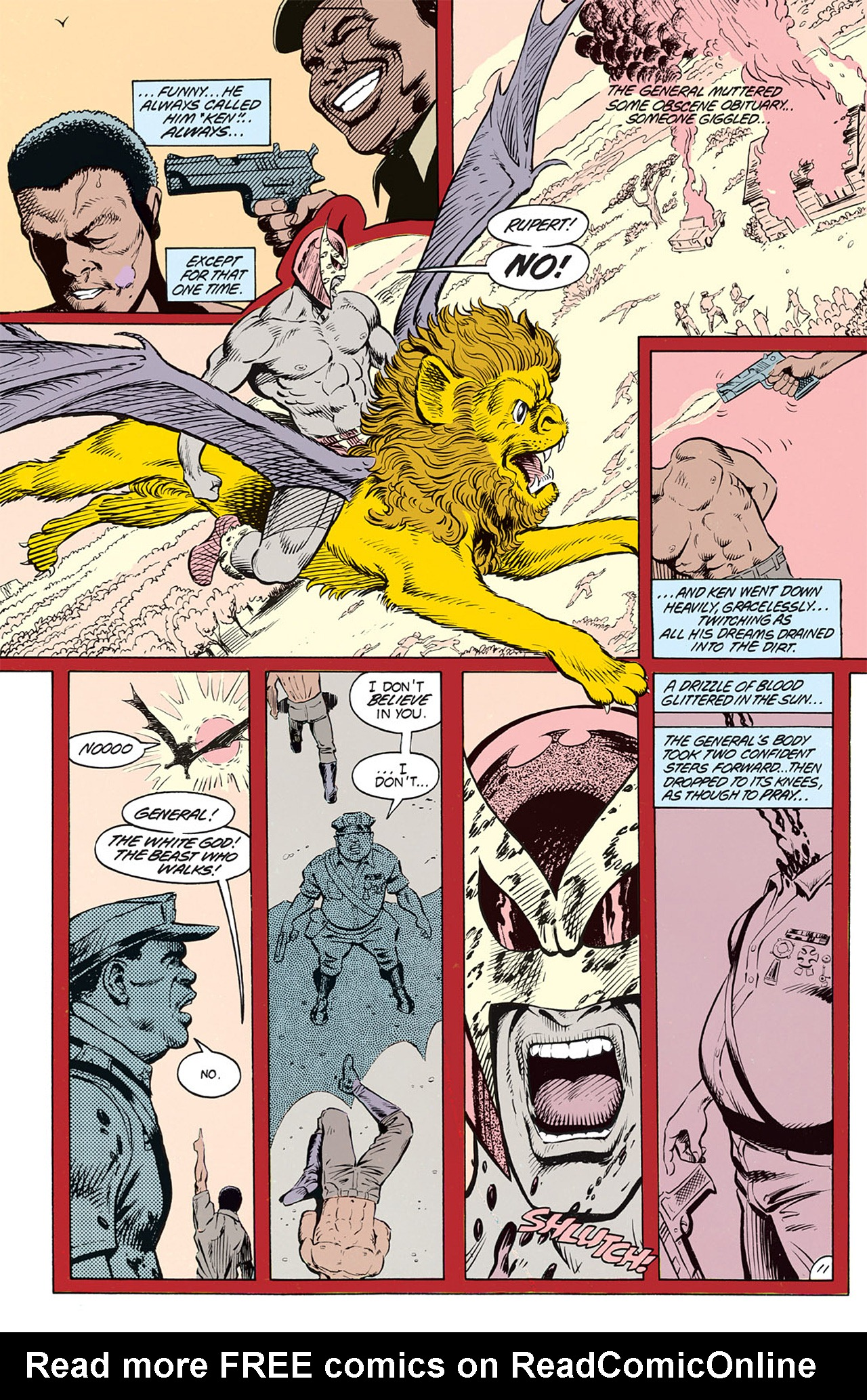 Read online Animal Man (1988) comic -  Issue #3 - 13