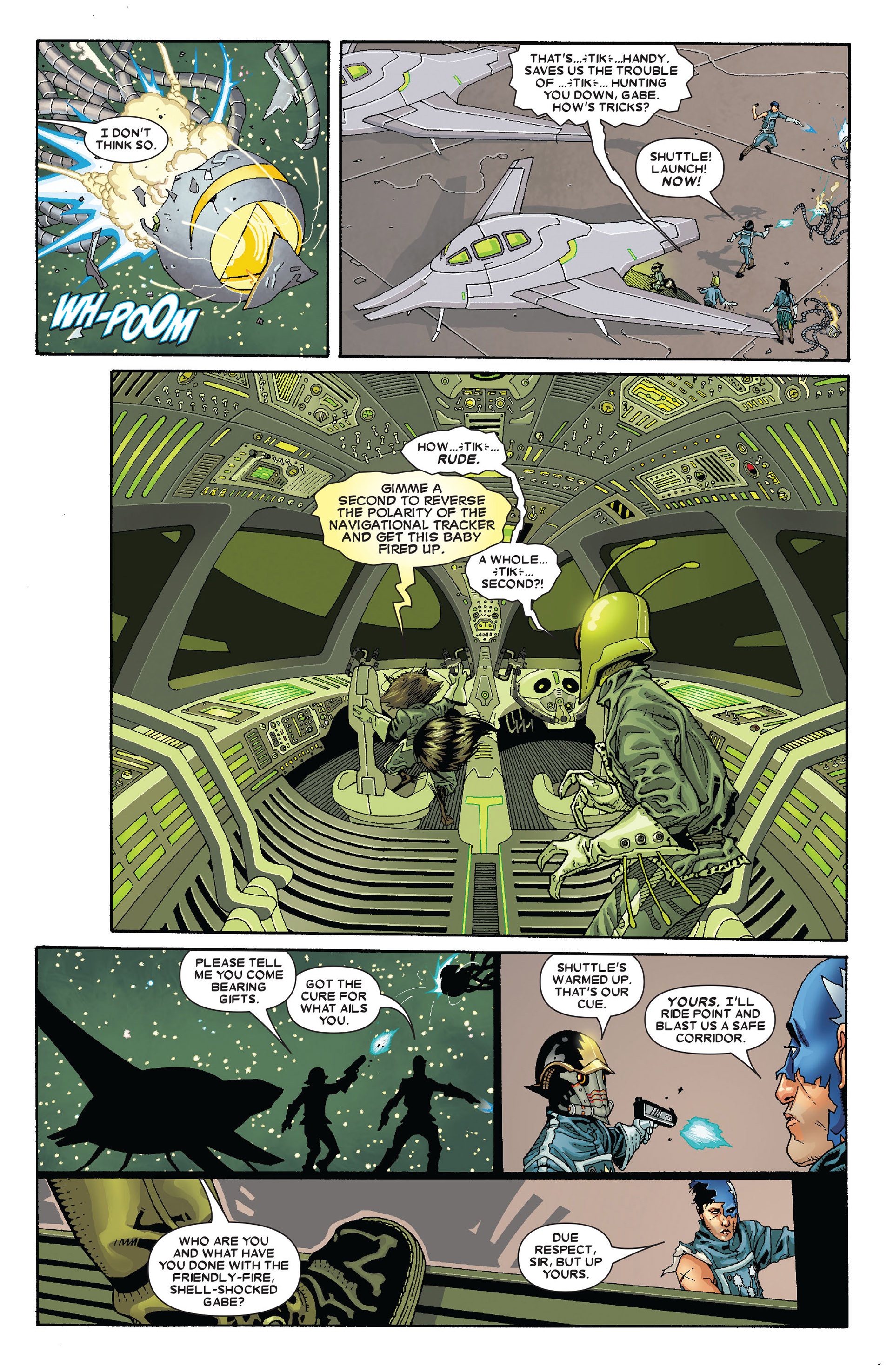 Read online Annihilation: Conquest - Starlord comic -  Issue #4 - 17