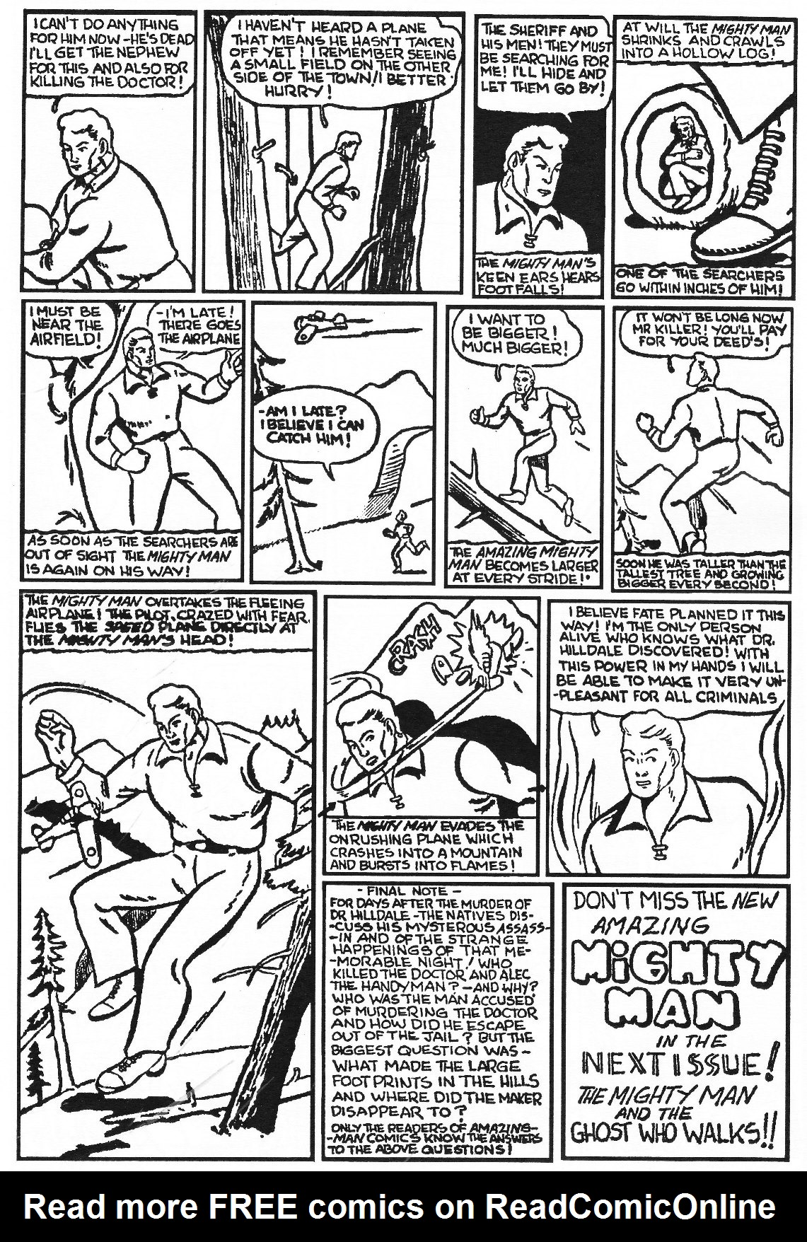 Read online Men of Mystery Comics comic -  Issue #83 - 98