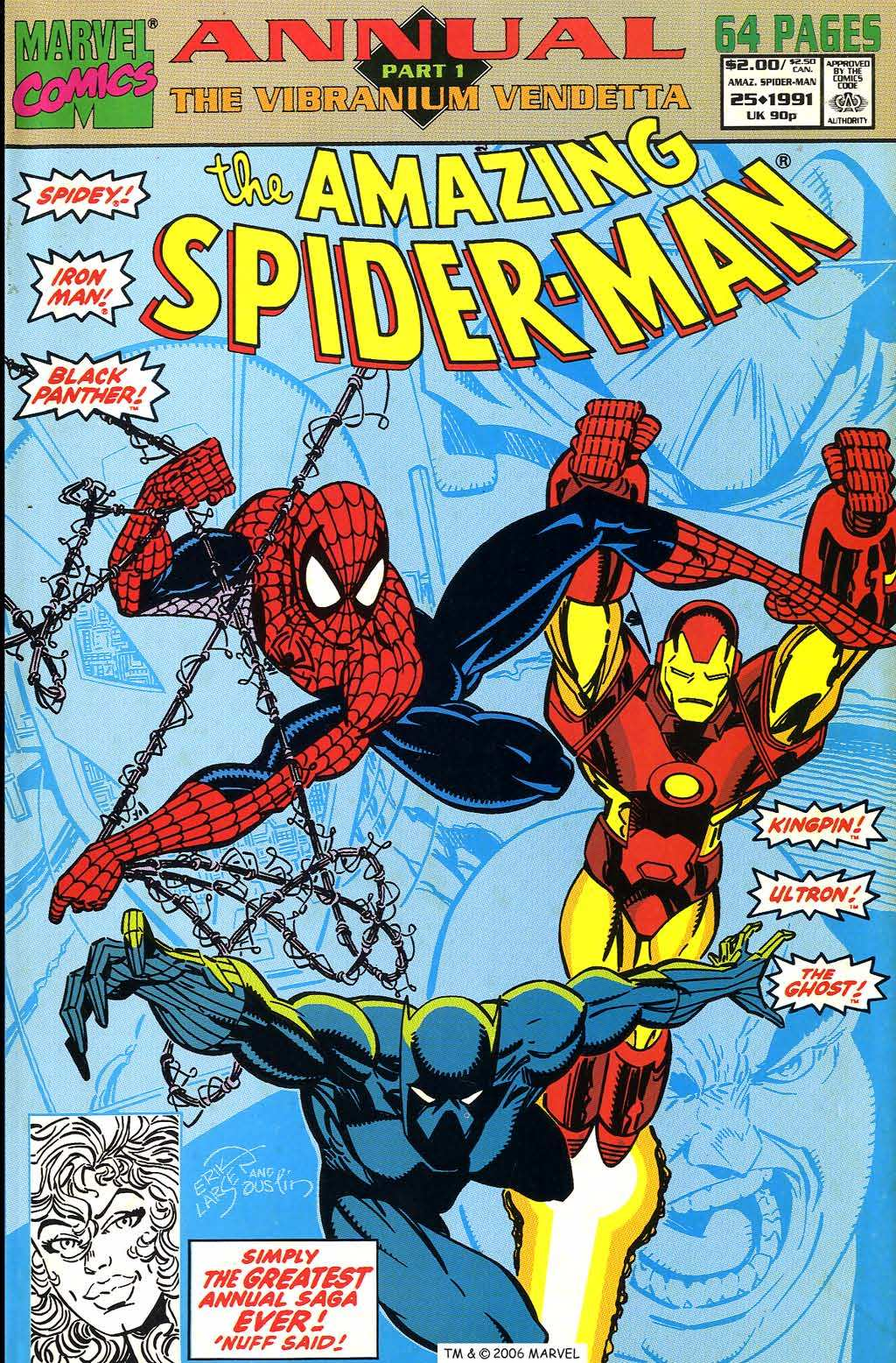 The Amazing Spider-Man (1963) _Annual_25 Page 1
