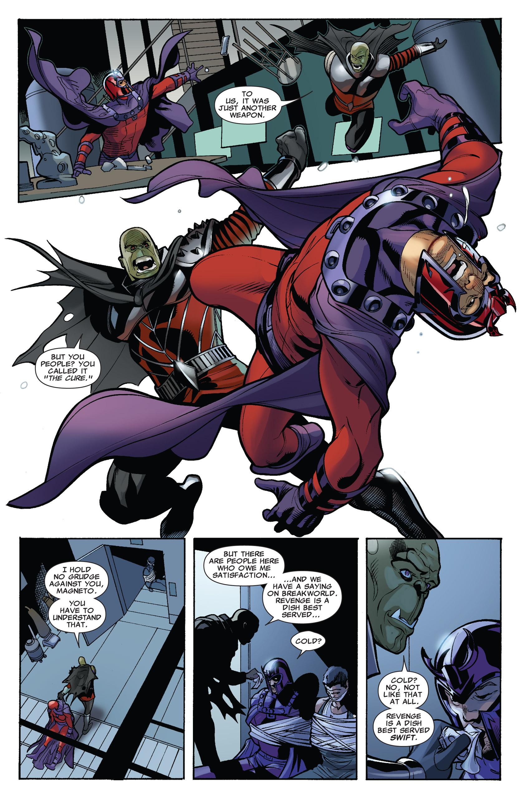 Read online Uncanny X-Men (1963) comic -  Issue #536 - 22