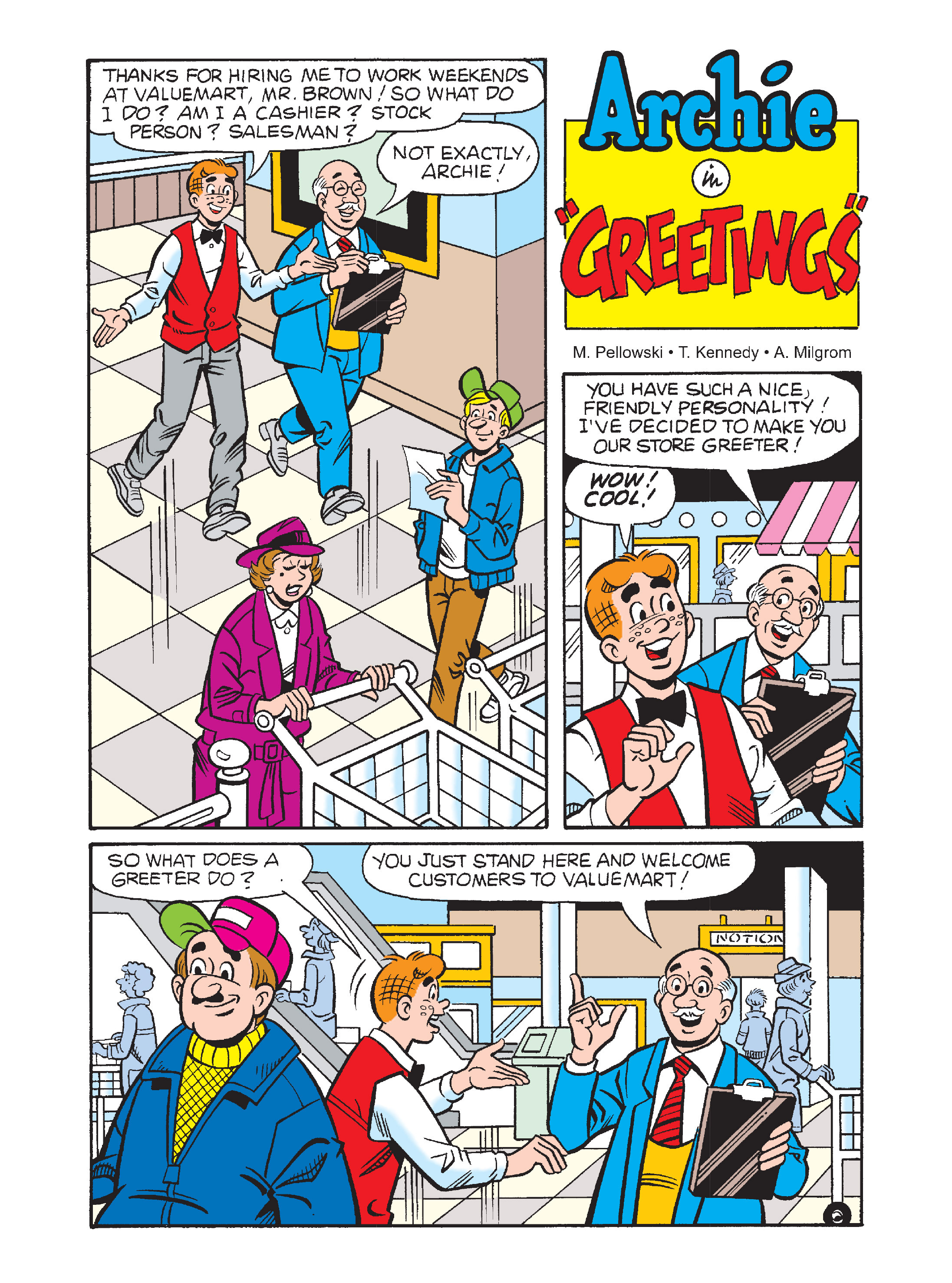 Read online Archie's Funhouse Double Digest comic -  Issue #1 - 68
