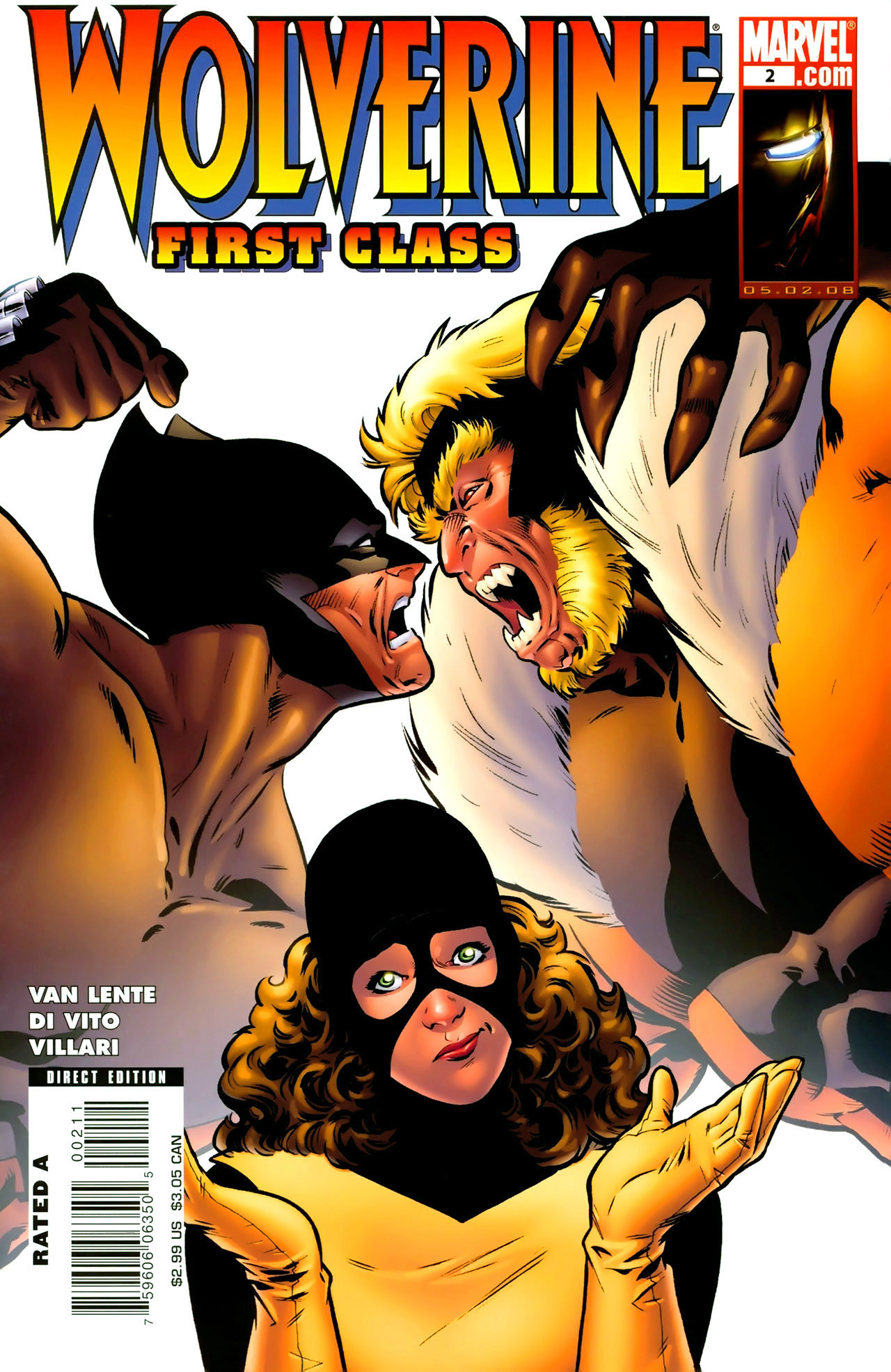 Read online Wolverine: First Class comic -  Issue #2 - 1