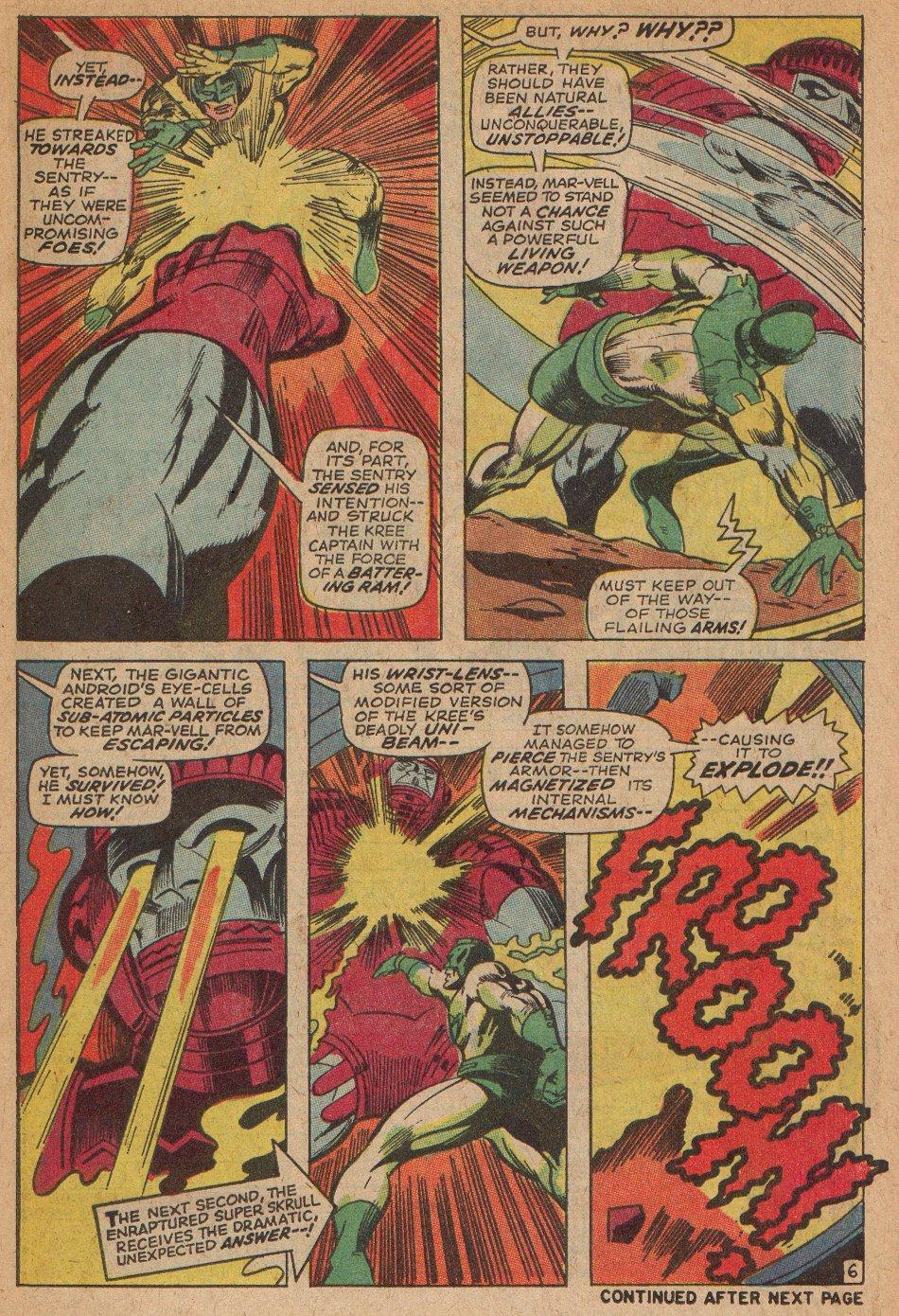 Captain Marvel (1968) Issue #3 #3 - English 7