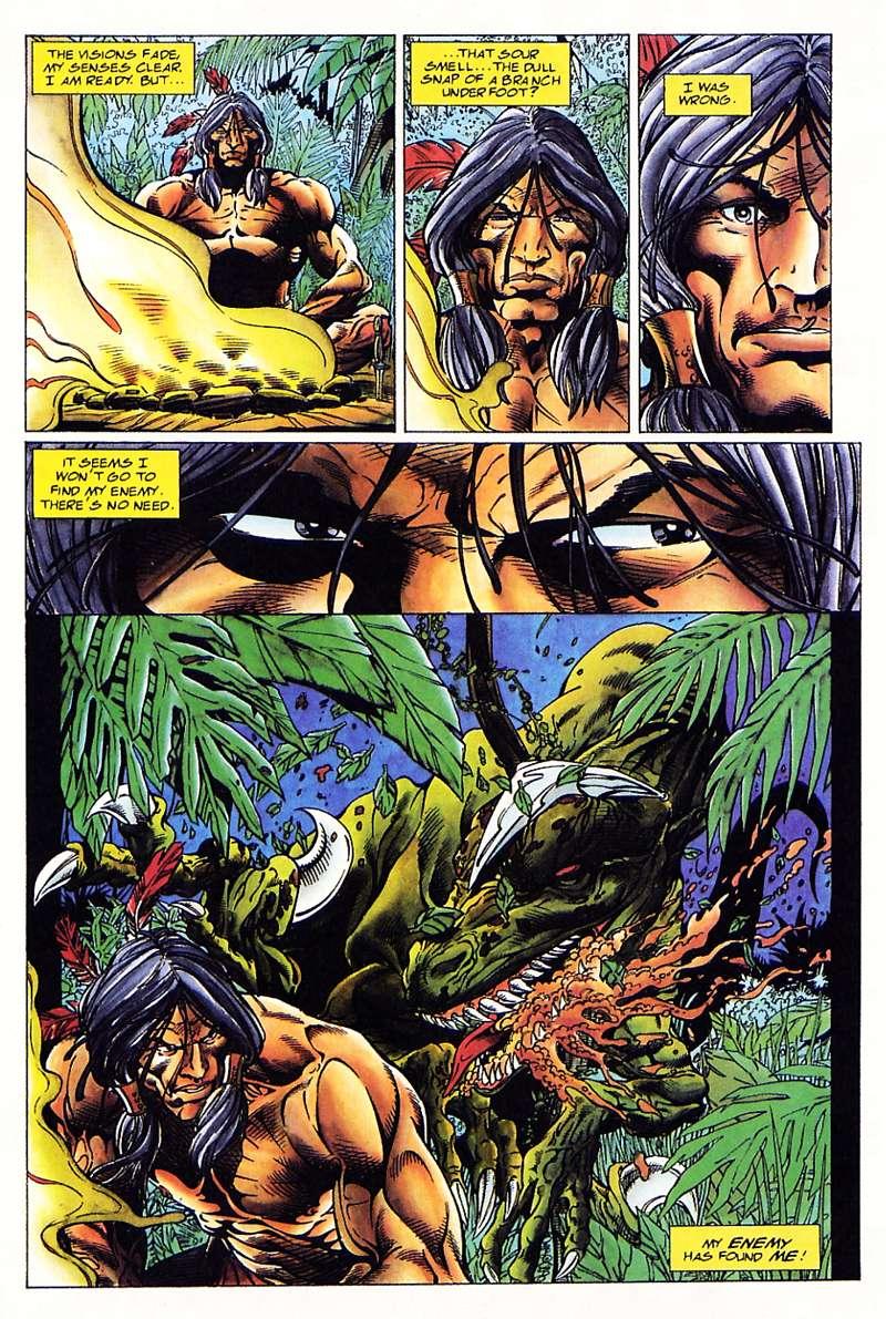 Read online Turok, Dinosaur Hunter (1993) comic -  Issue #1 - 8