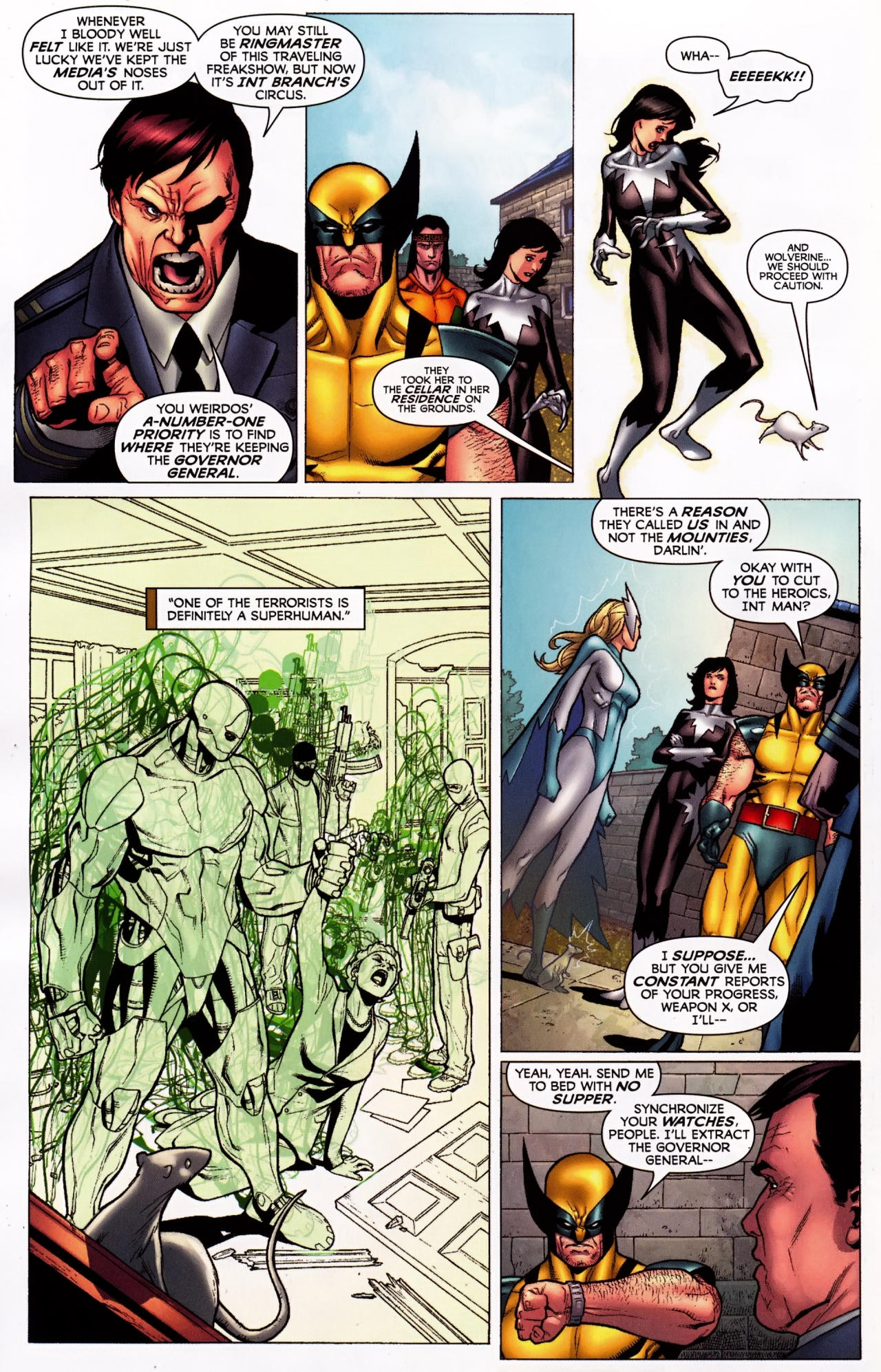 Read online Wolverine: First Class comic -  Issue #5 - 9