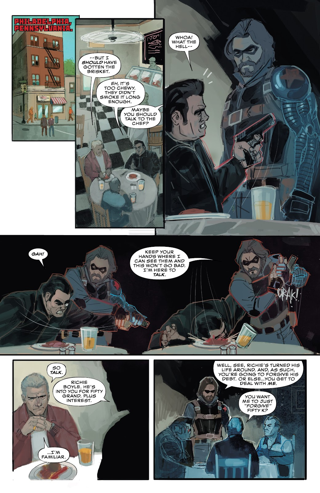 Read online Winter Soldier (2018) comic -  Issue #4 - 13