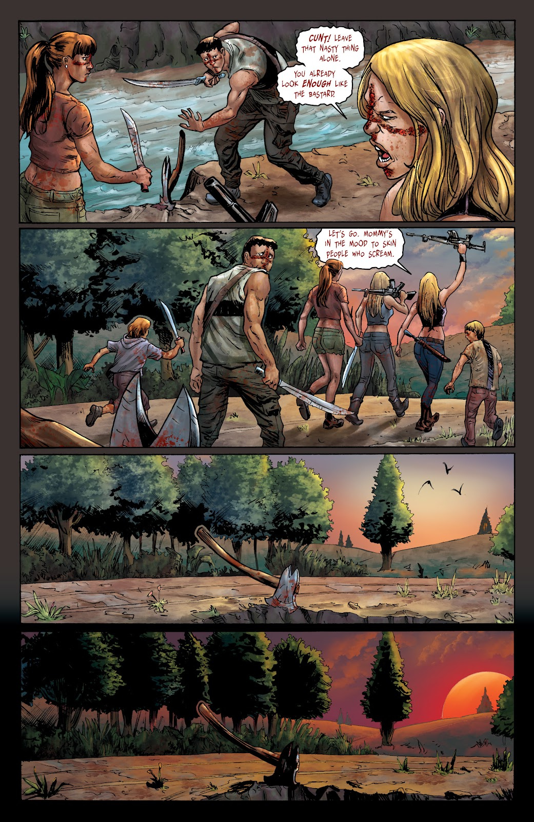 Crossed: Badlands issue 100 - Page 22