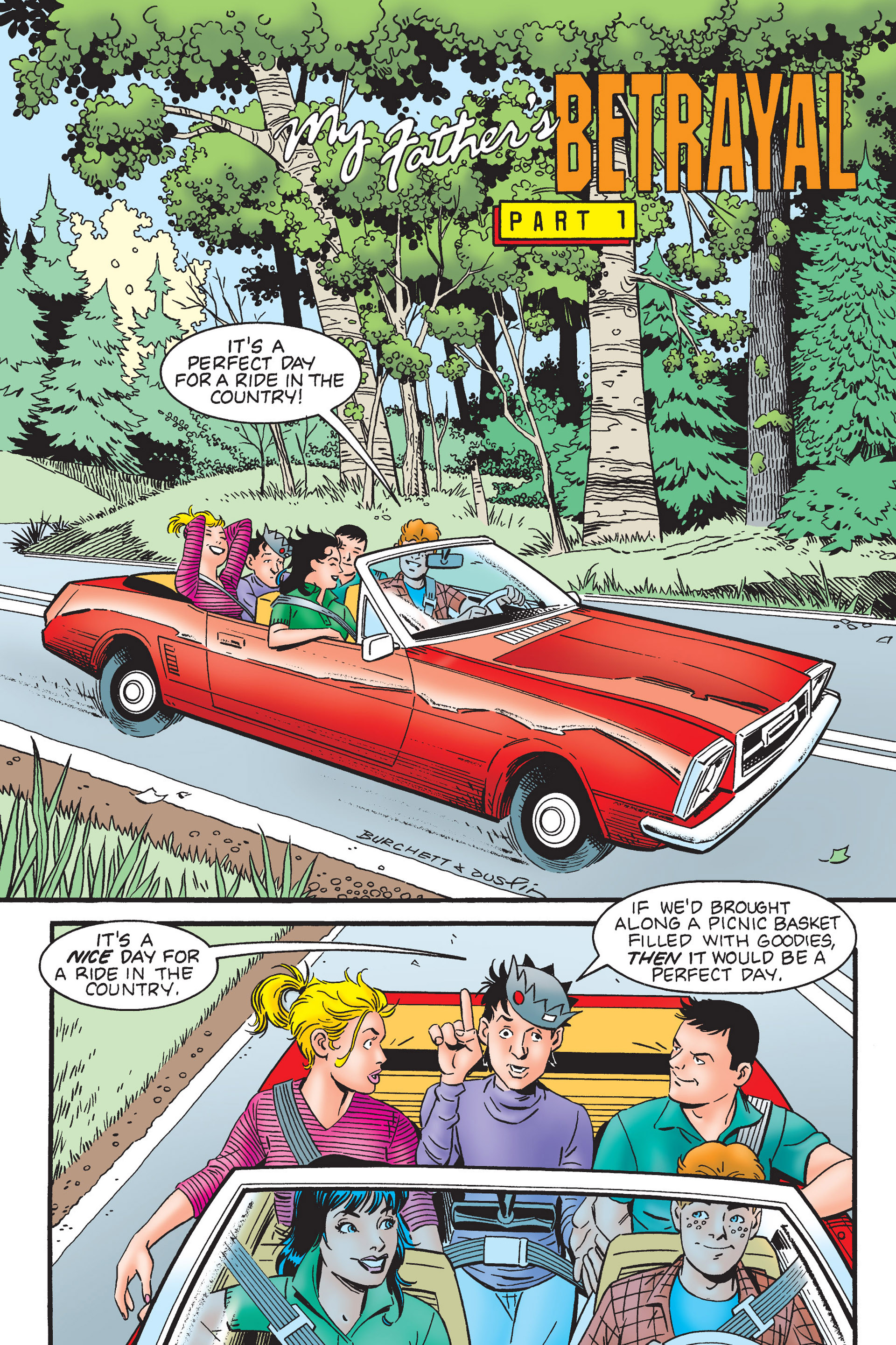 Read online Archie's New Look Series comic -  Issue #4 - 4