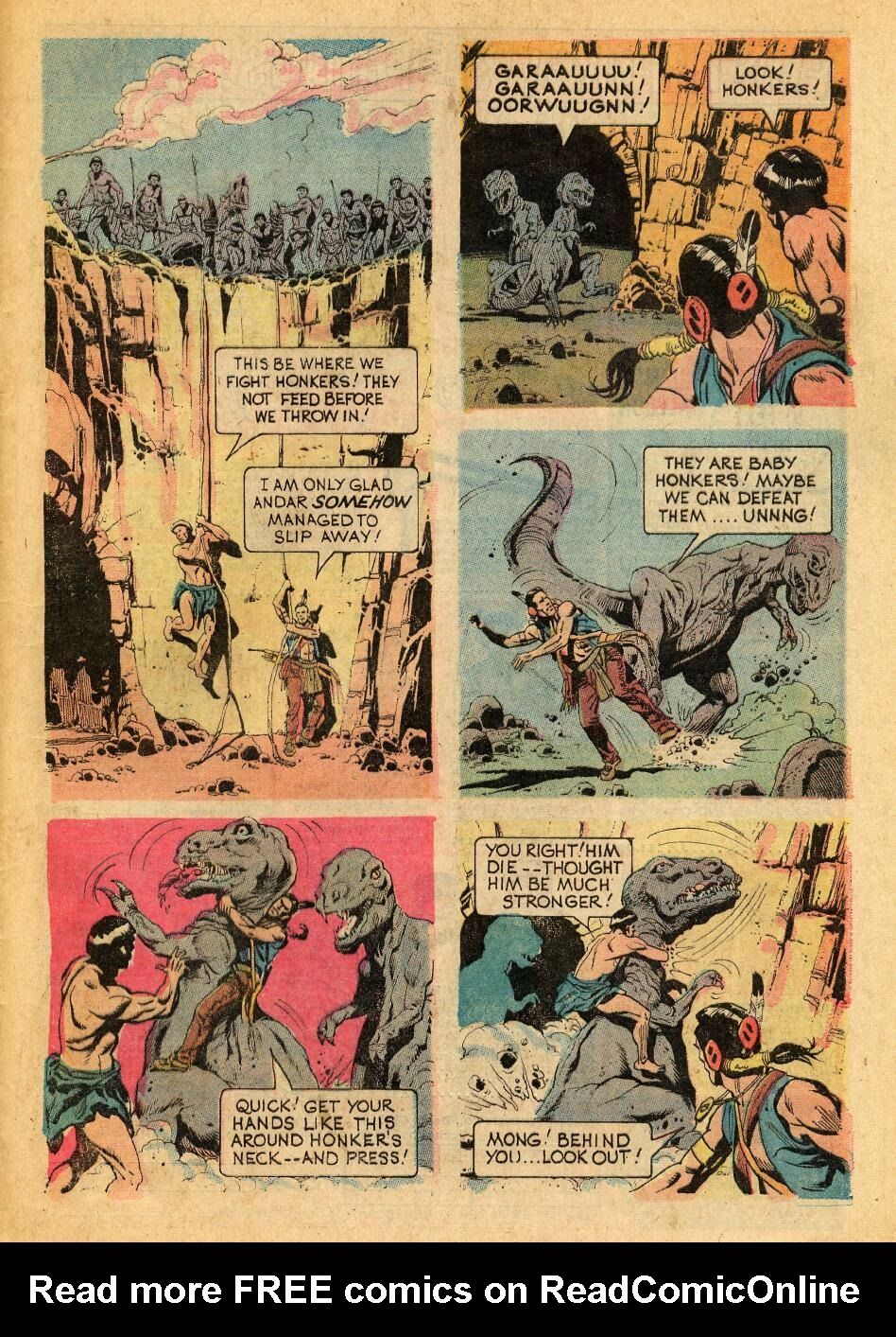 Read online Turok, Son of Stone comic -  Issue #88 - 29