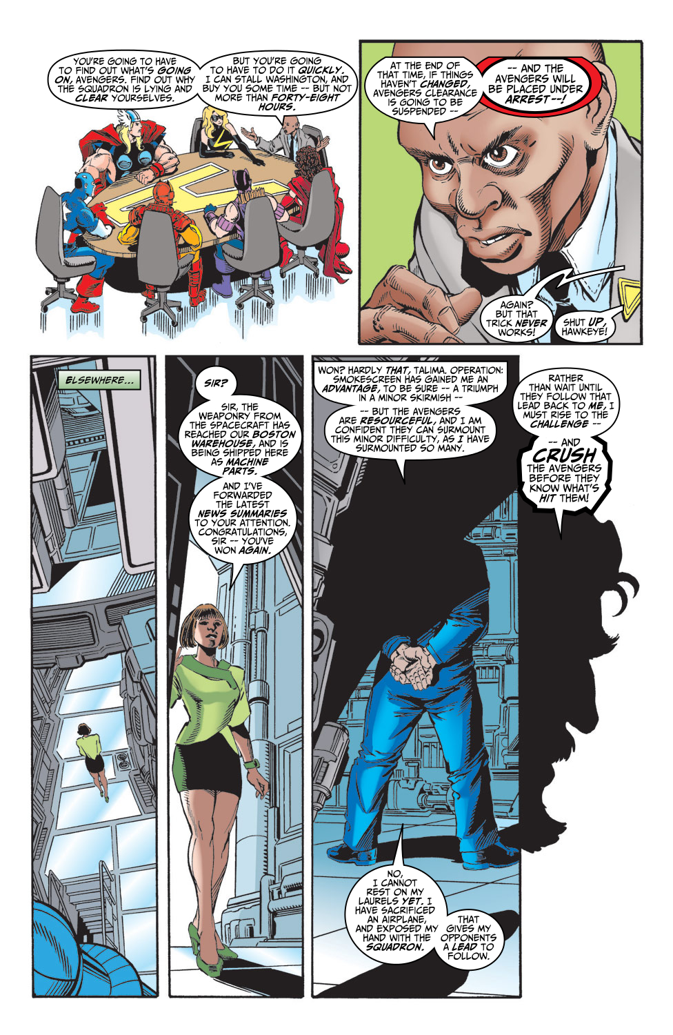 Read online Avengers (1998) comic -  Issue #5 - 22