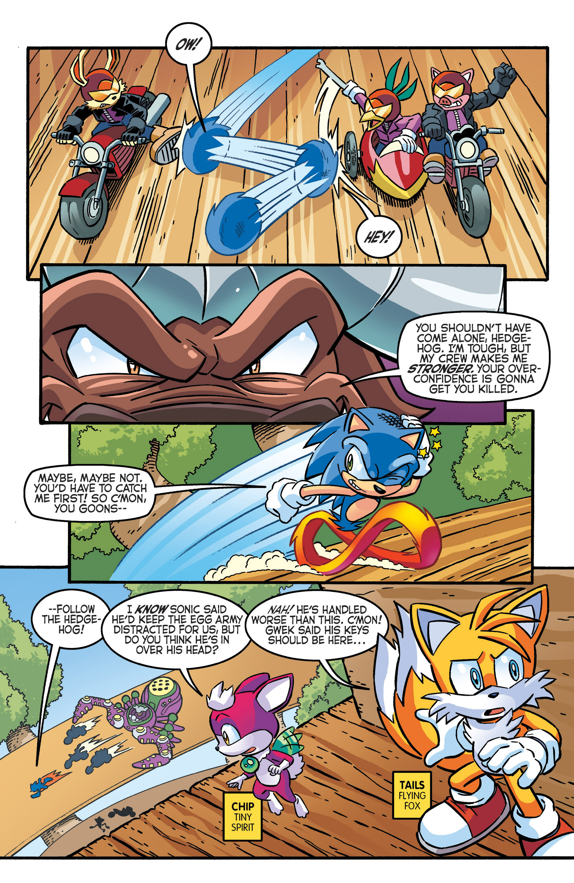 Read online Sonic The Hedgehog comic -  Issue #280 - 5