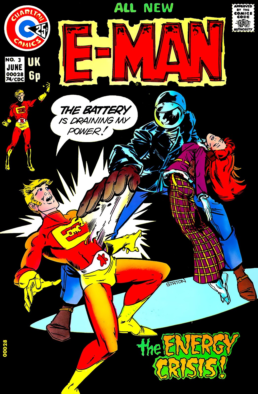 E-Man (1973) issue 3 - Page 1
