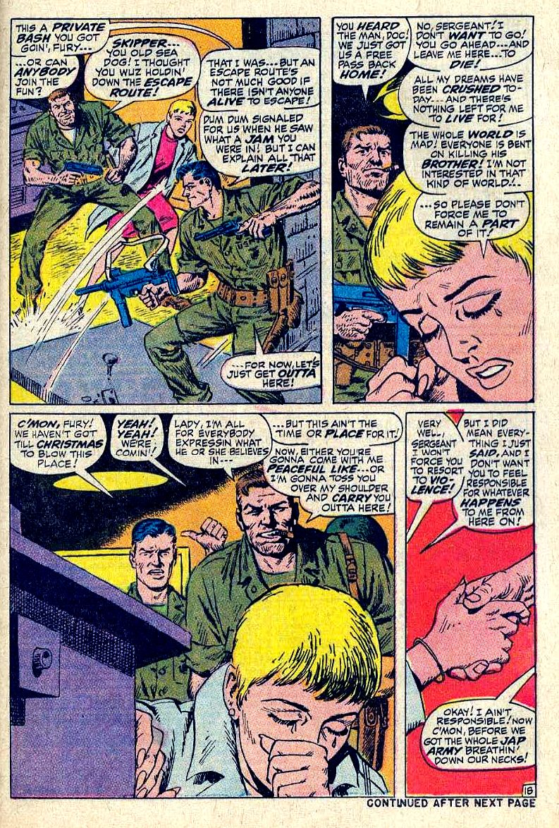 Read online Sgt. Fury comic -  Issue #64 - 25