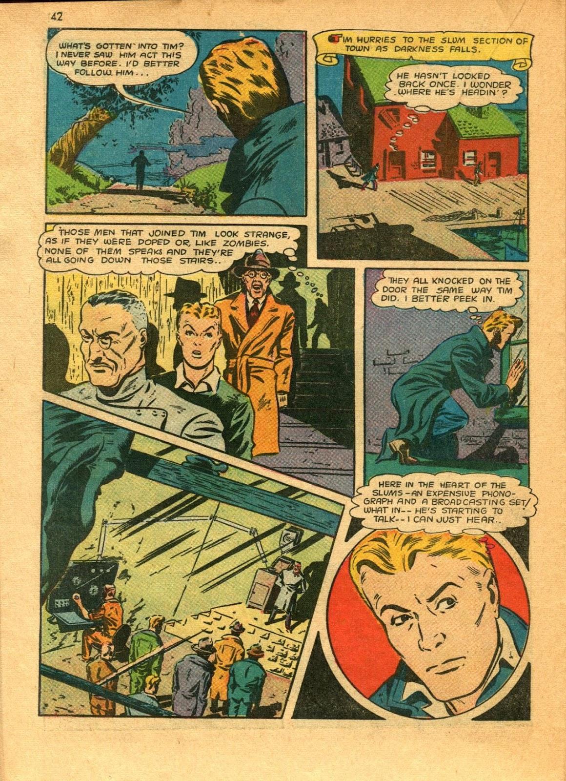 Read online Super-Magician Comics comic -  Issue #11 - 42