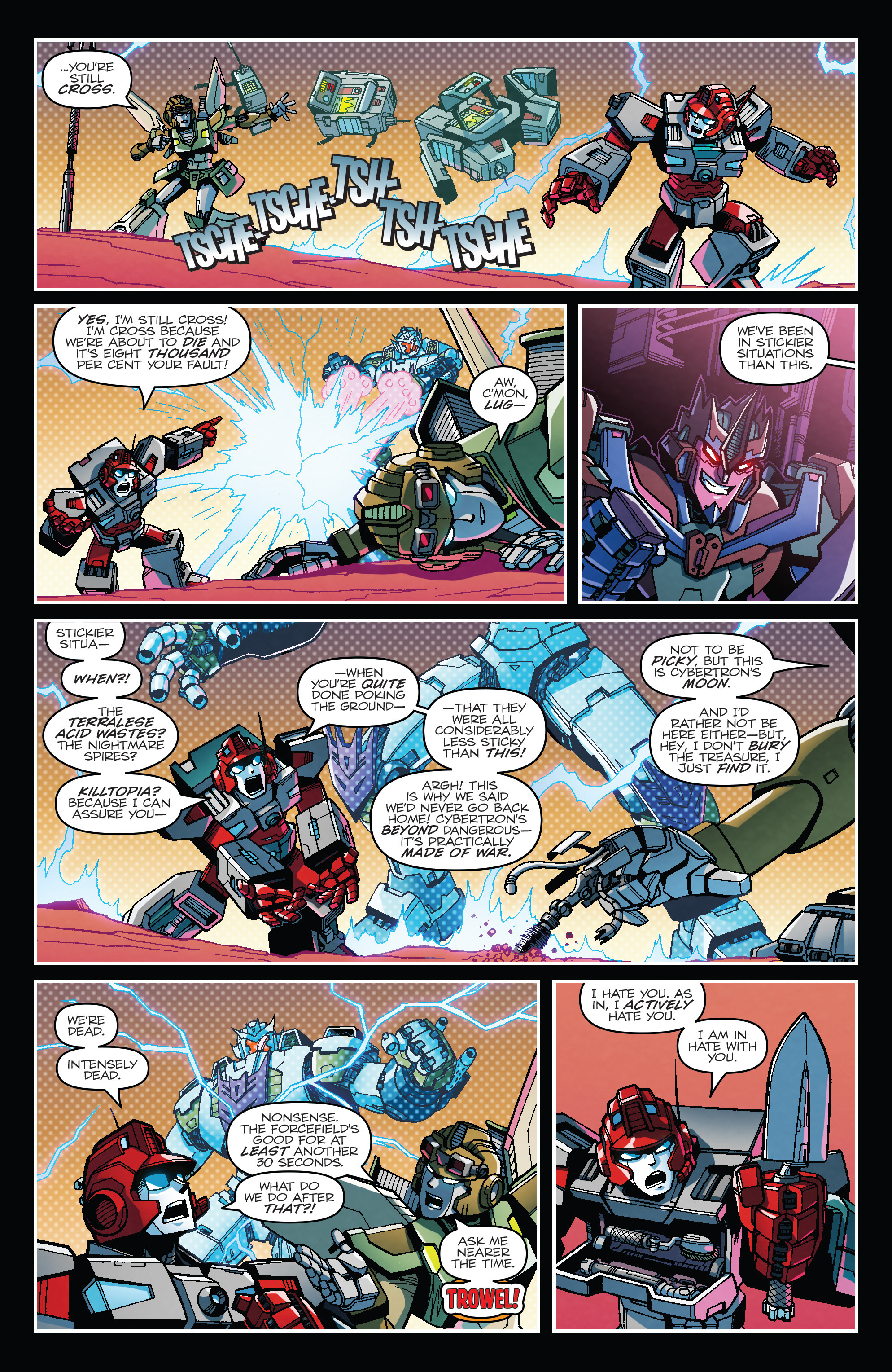 Read online Transformers: Lost Light comic -  Issue #1 - 4