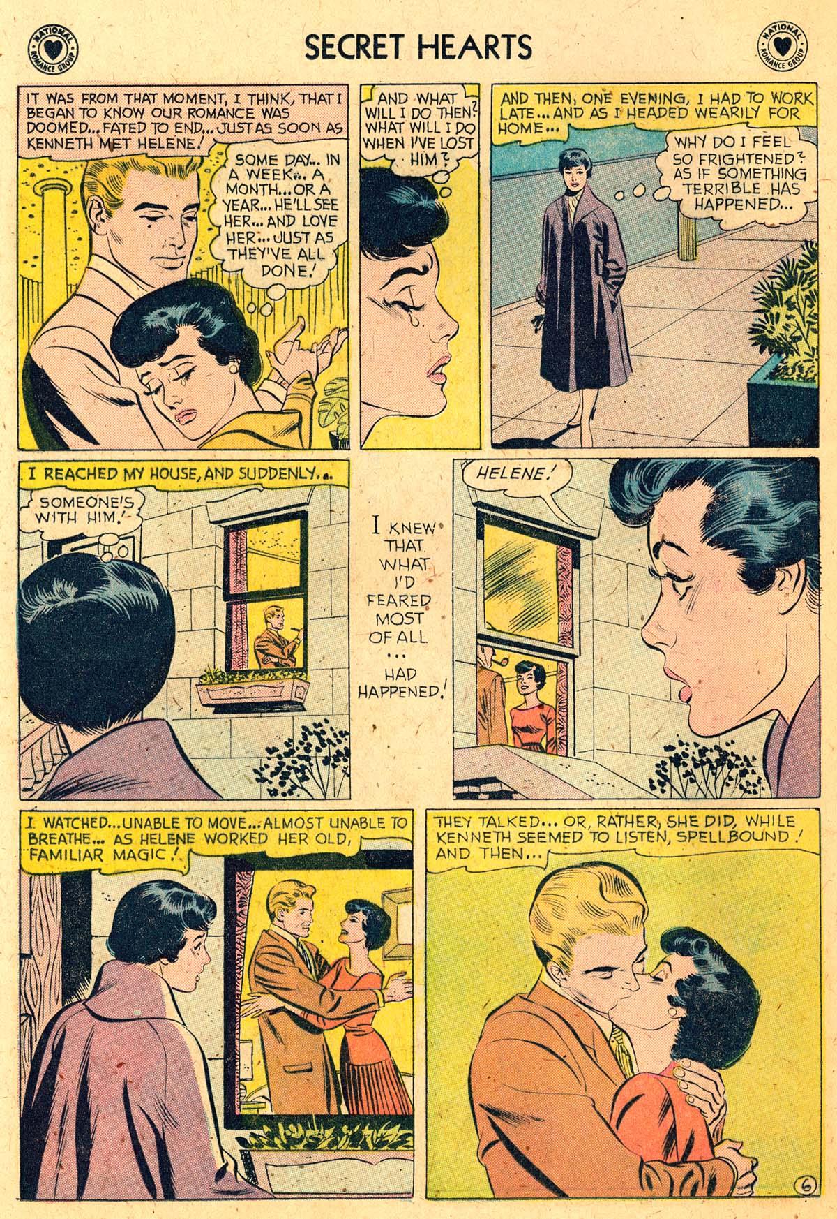 Read online Secret Hearts comic -  Issue #52 - 24