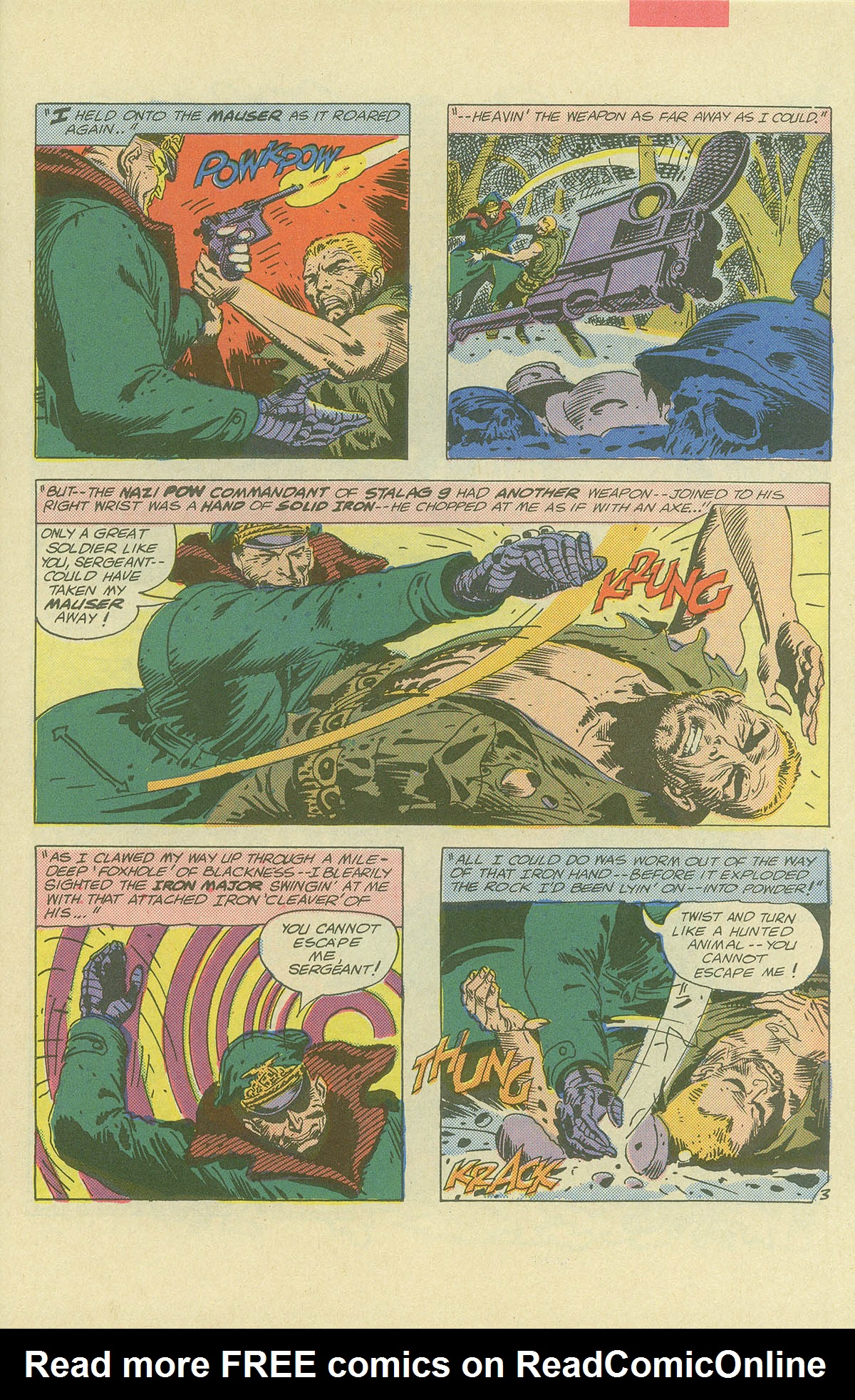 Read online Sgt. Rock comic -  Issue #404 - 5