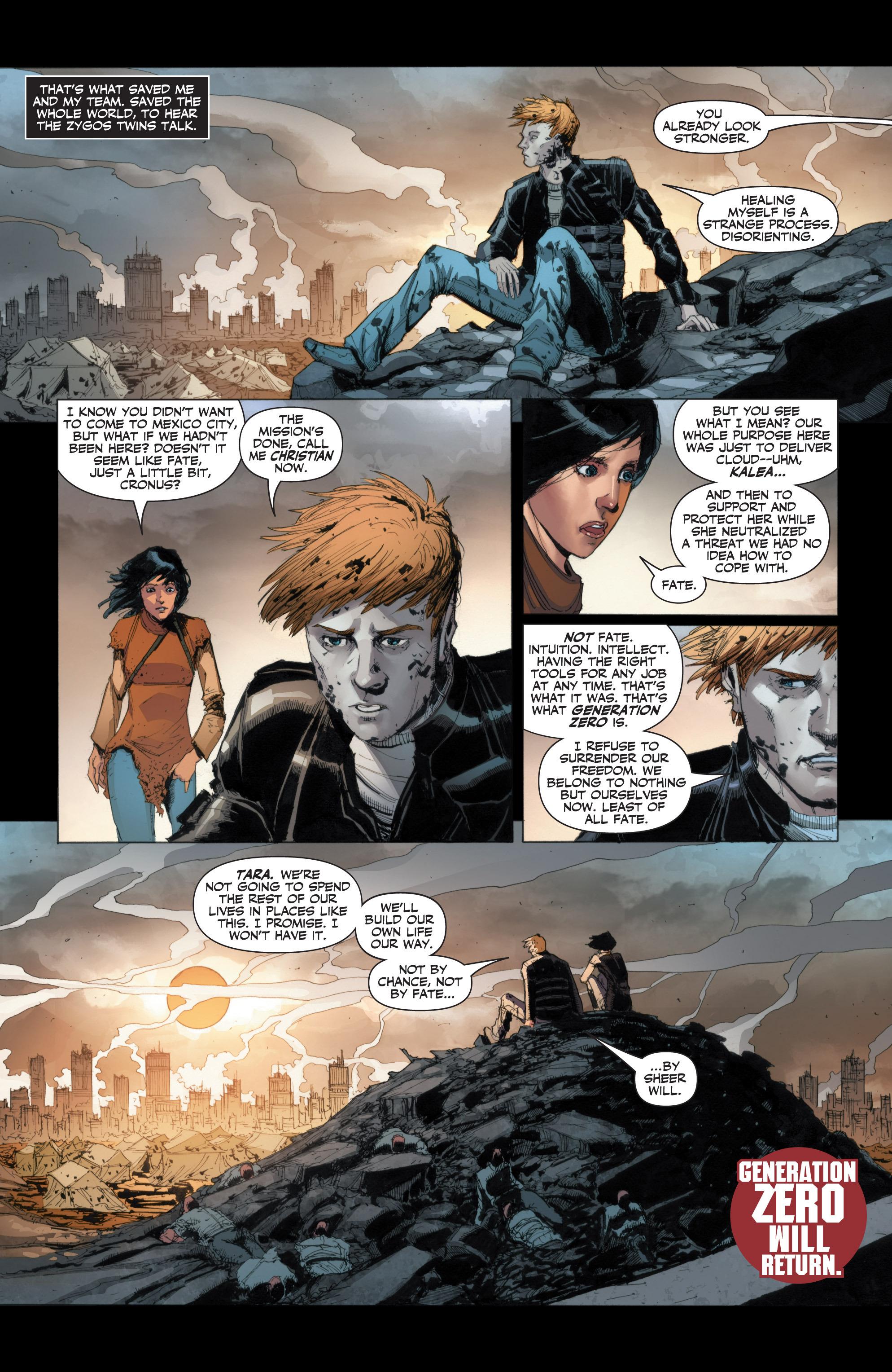 Read online Armor Hunters: Harbinger comic -  Issue # TPB - 76