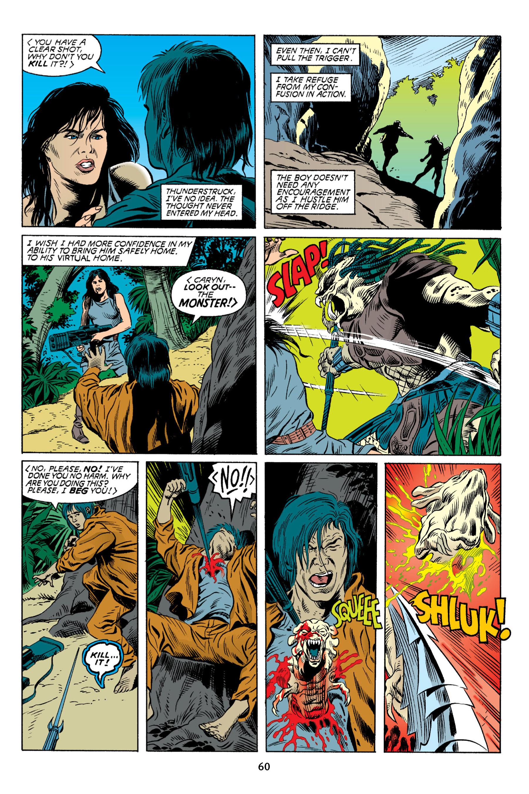 Read online Aliens vs. Predator Omnibus comic -  Issue # _TPB 2 Part 1 - 60