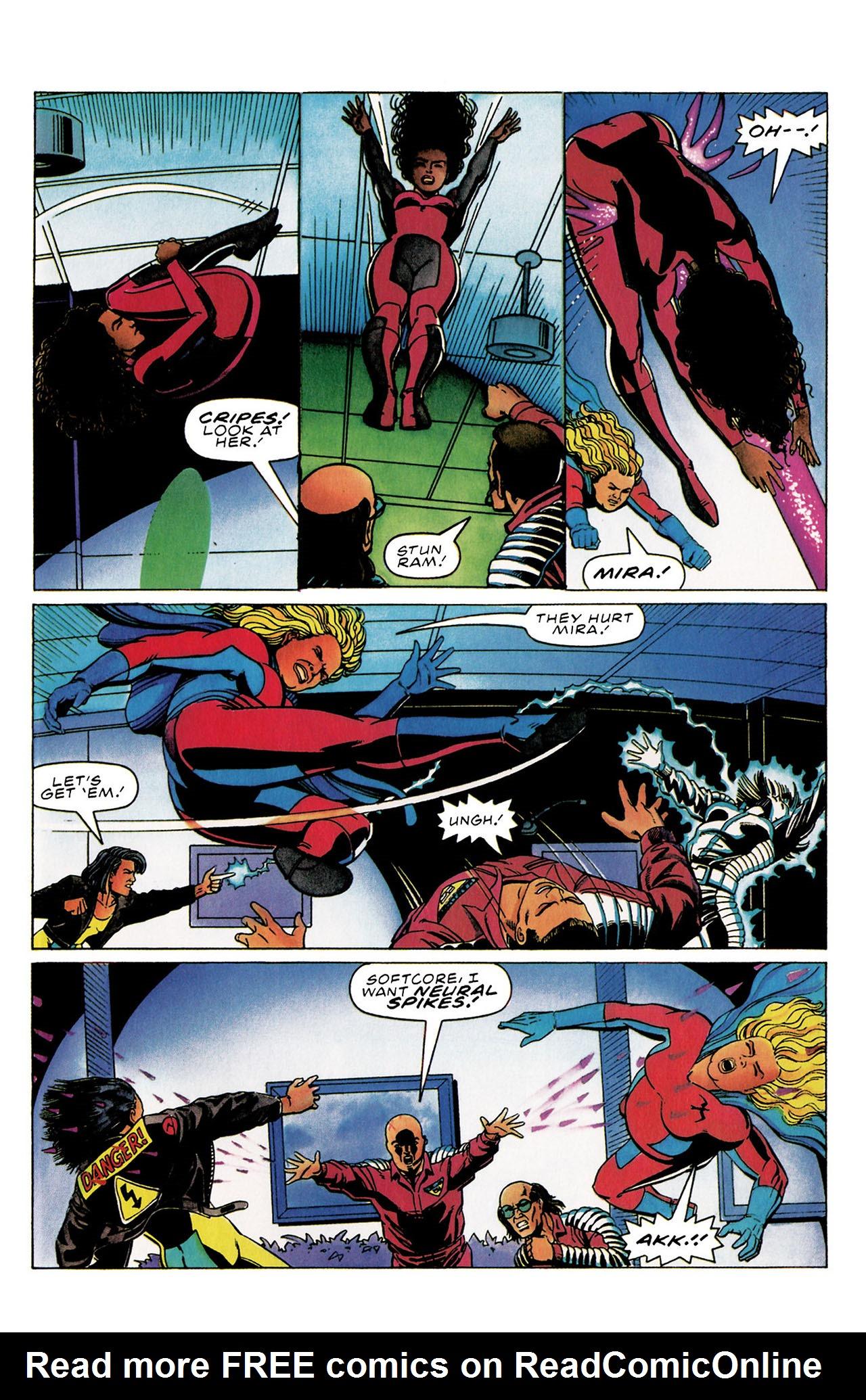 Read online Harbinger (1992) comic -  Issue #30 - 18