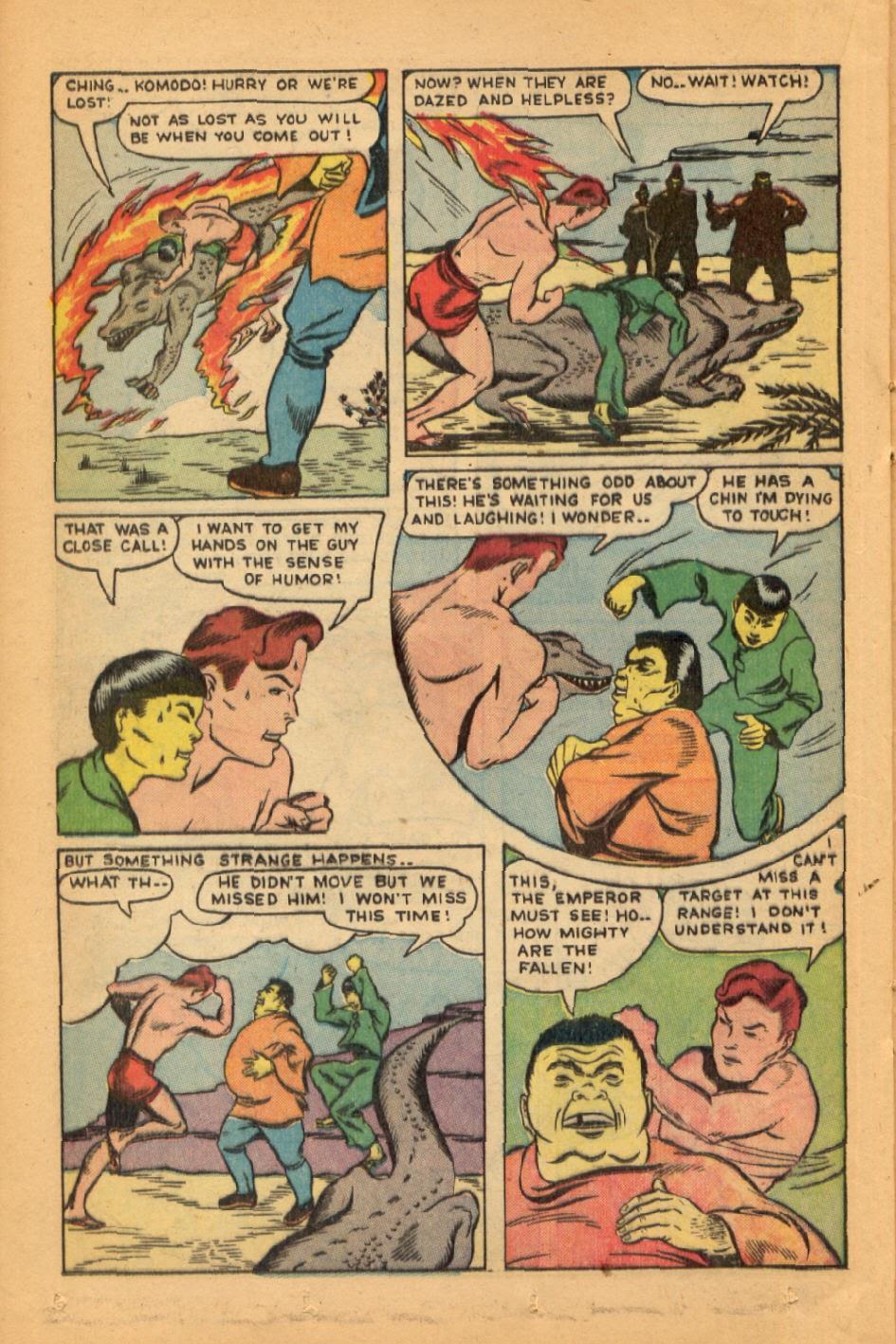 Read online Super-Magician Comics comic -  Issue #45 - 30