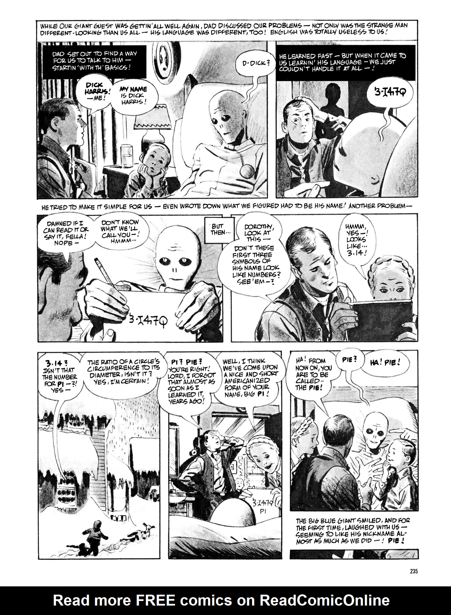 Read online Eerie Archives comic -  Issue # TPB 13 - 236