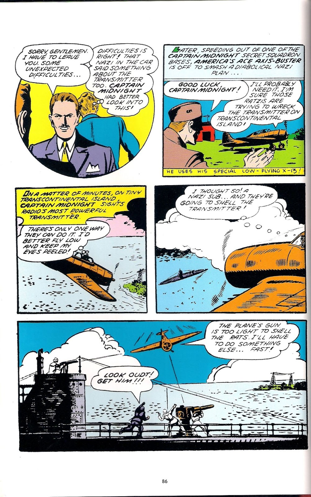 Captain Midnight (1942) issue 6 - Page 18