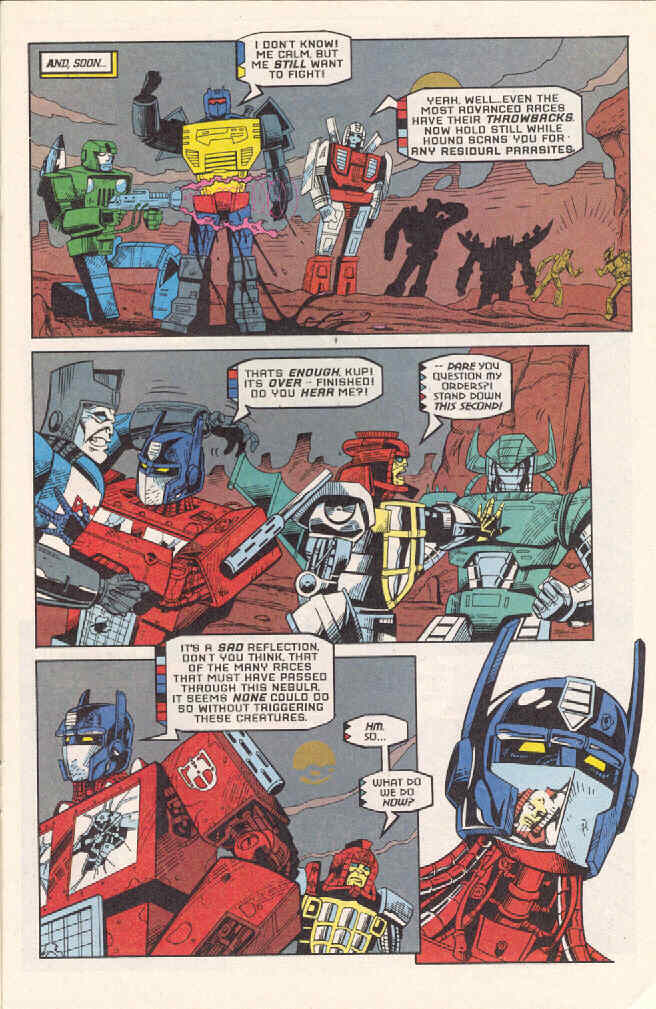 Read online Transformers: Generation 2 comic -  Issue #3 - 17